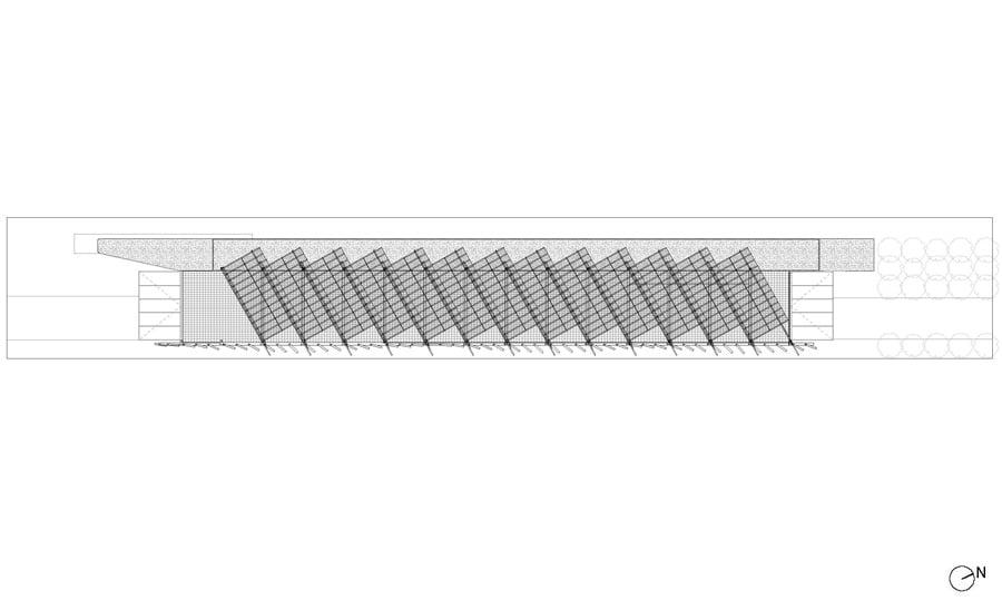 Pianta copertura © Biber Architects
