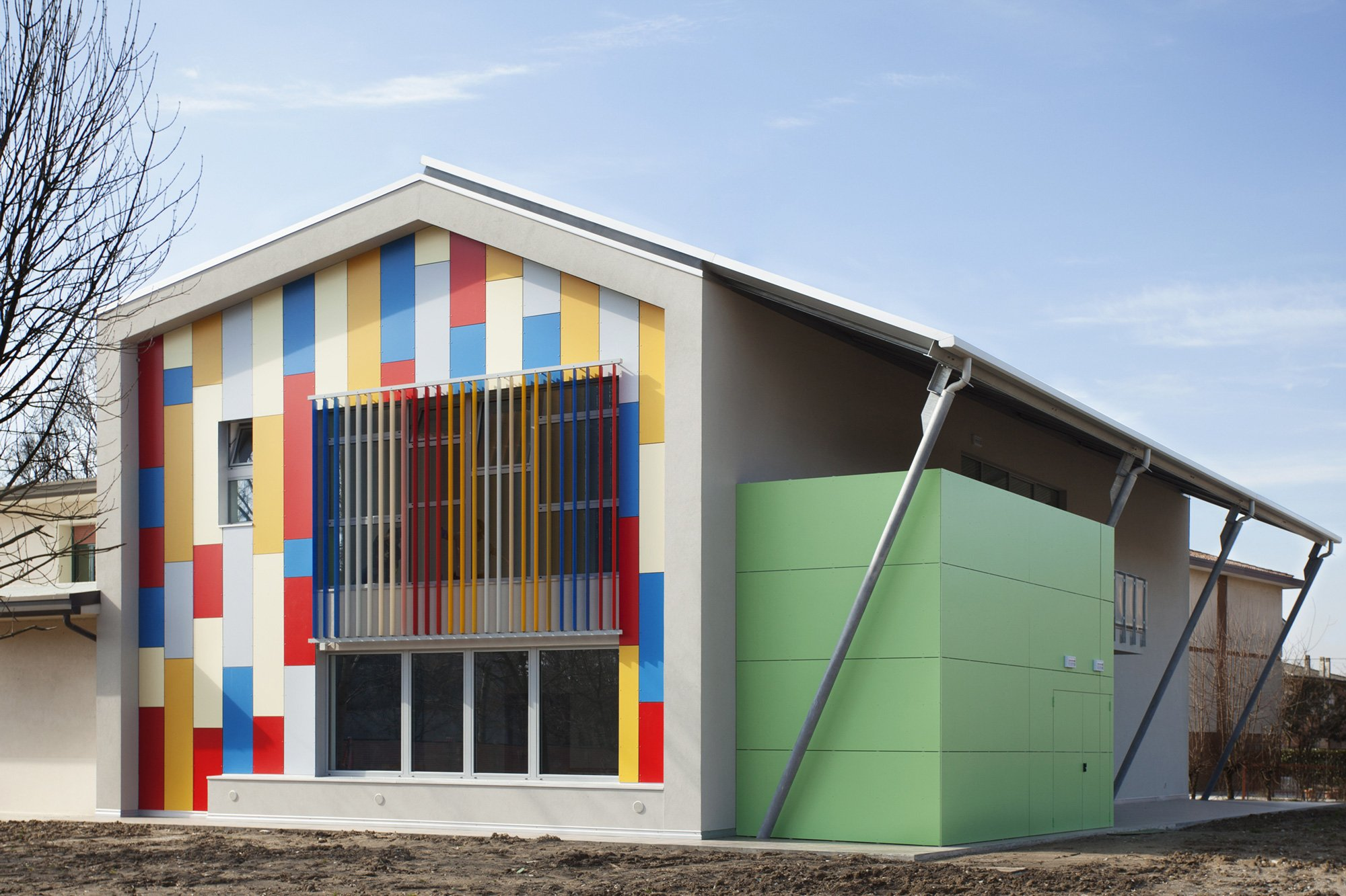 Extension of an elementary school