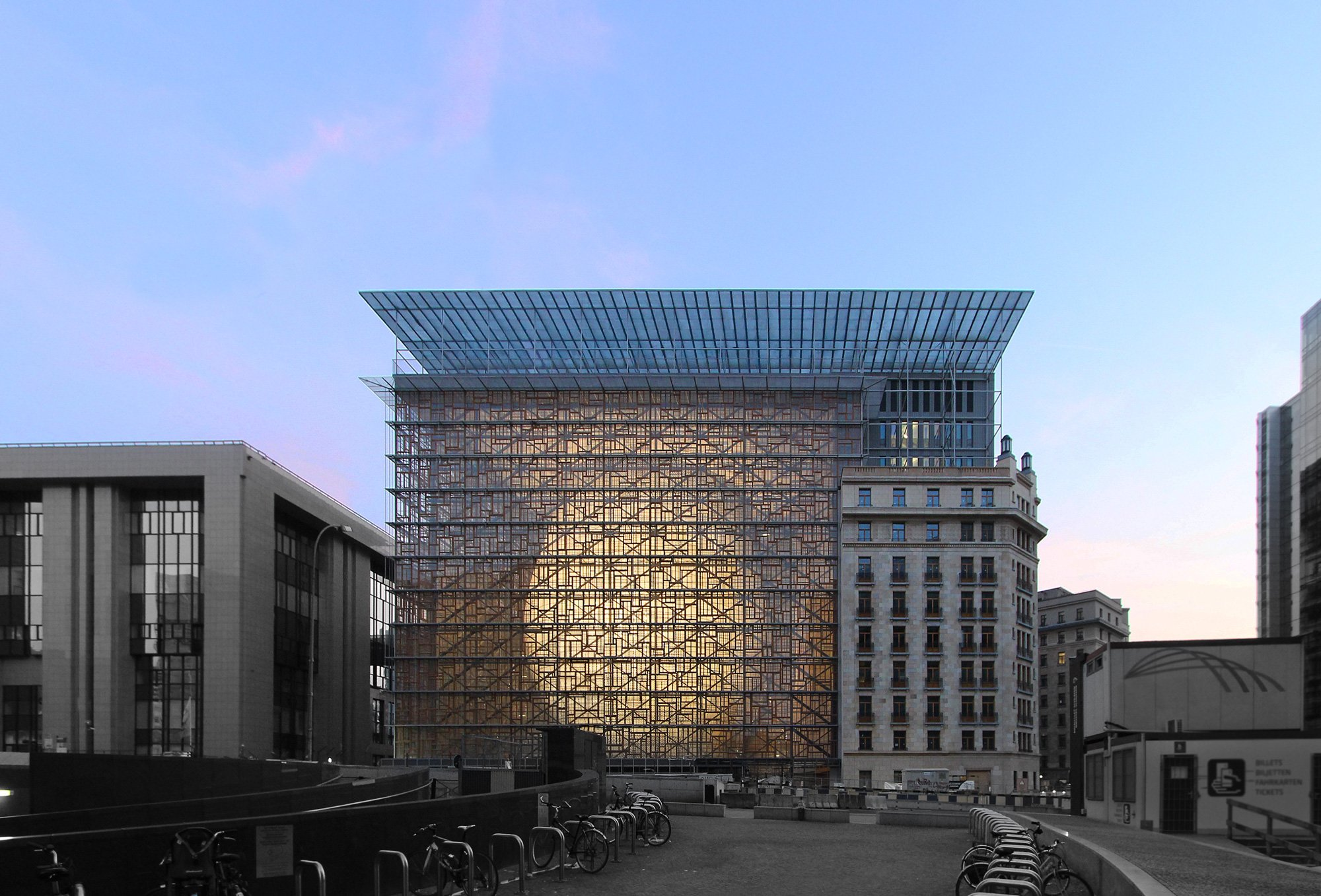 Sede del consiglio Europeo © Philippe Samyn and Partners architects & engineers