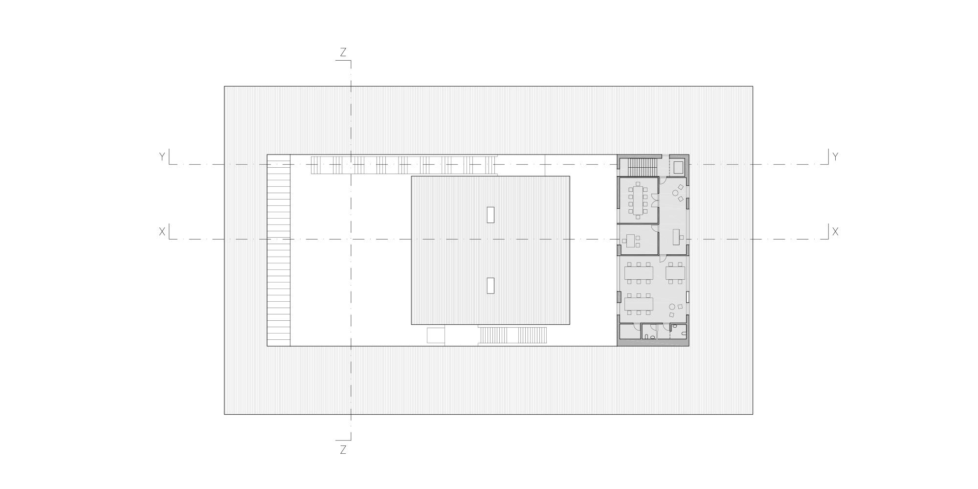 2nd Floor Plan © Rafael de La-Hoz