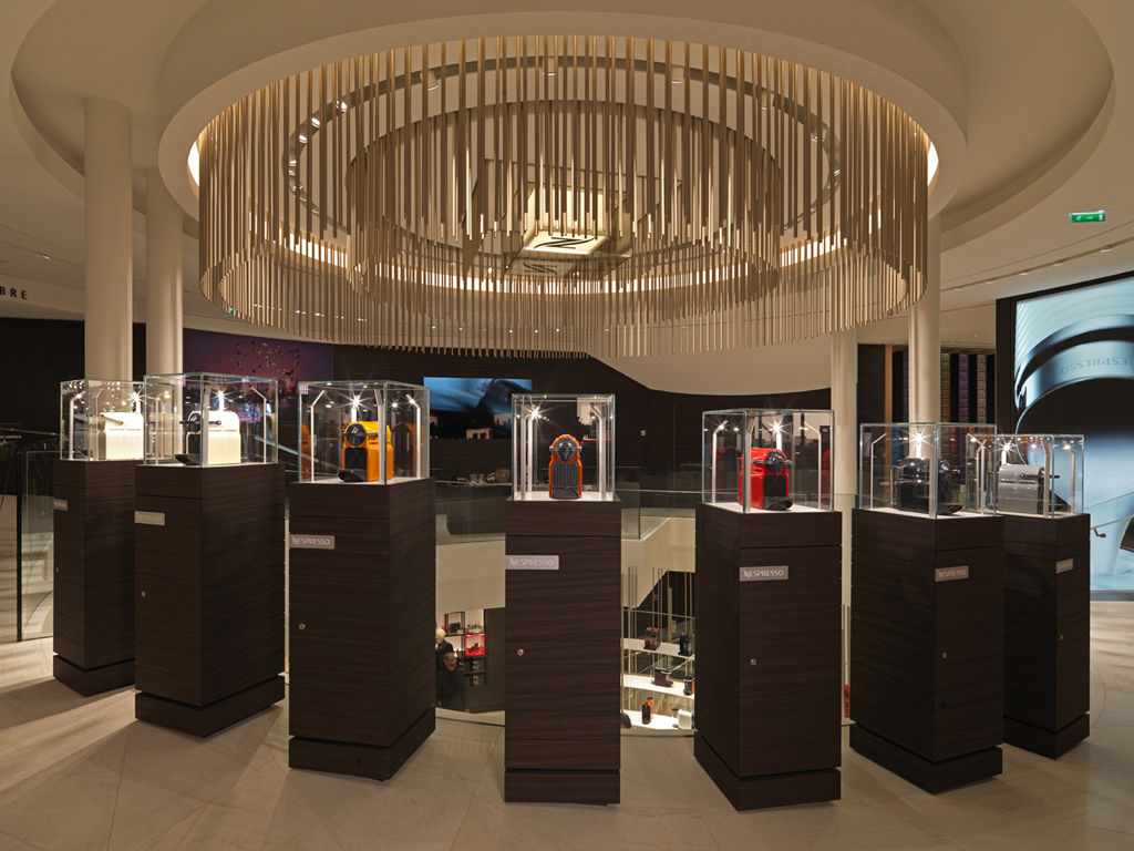 Nespresso Flagship Paris Champs Elysees