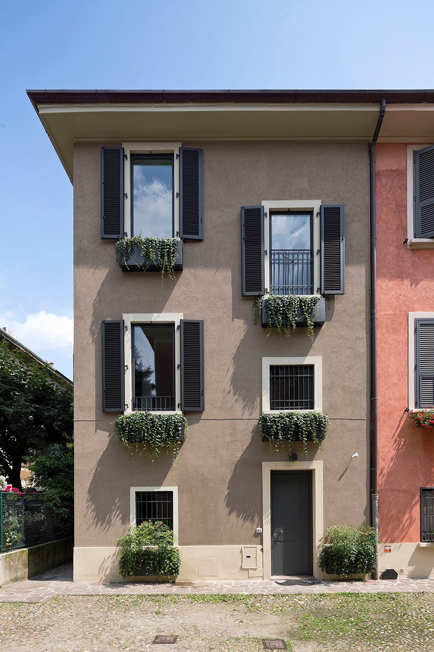 Westway architects casa citt studi milano - Facciate case moderne ...