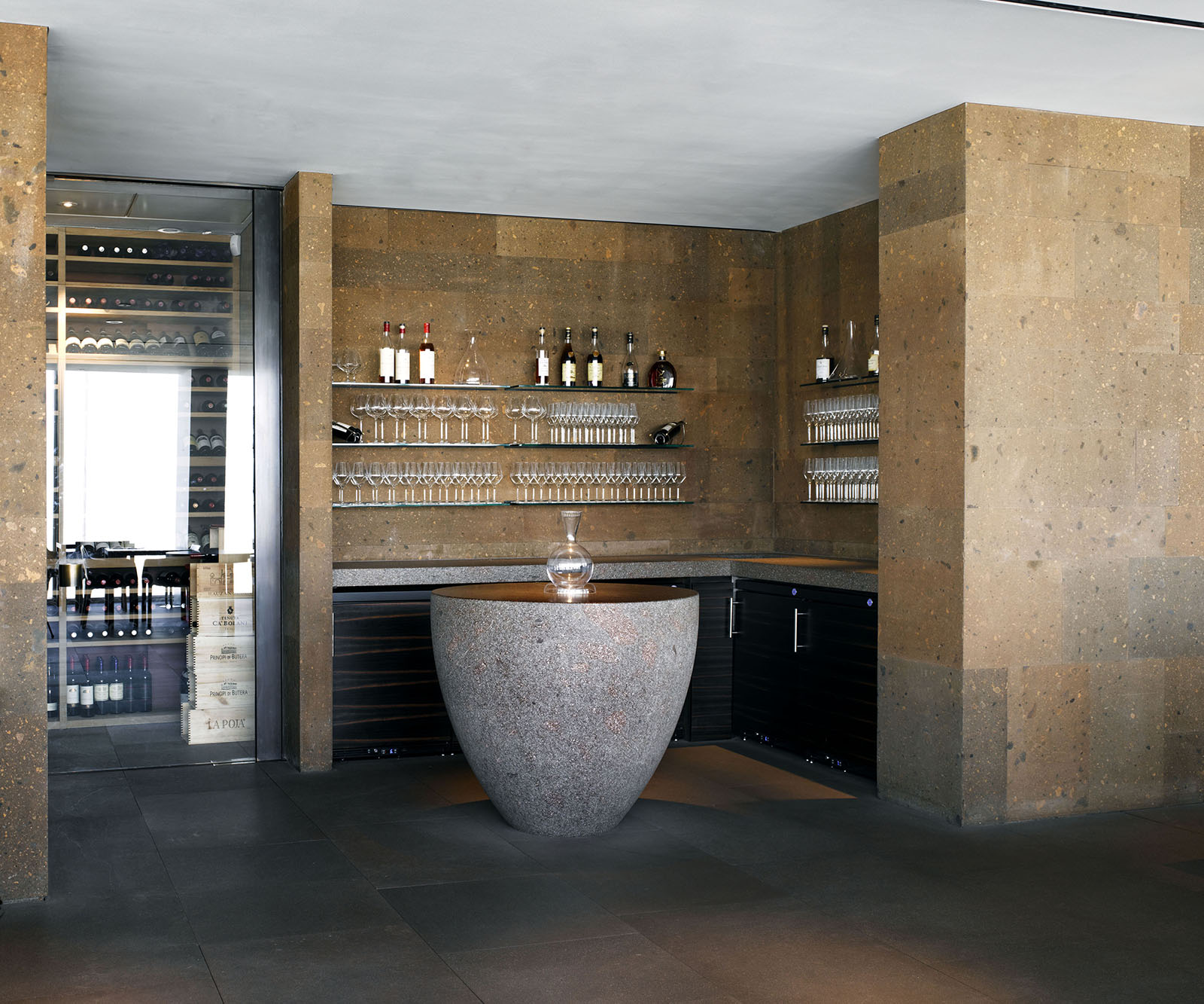 Claudio Silvestrin Architects Oblix Restaurant