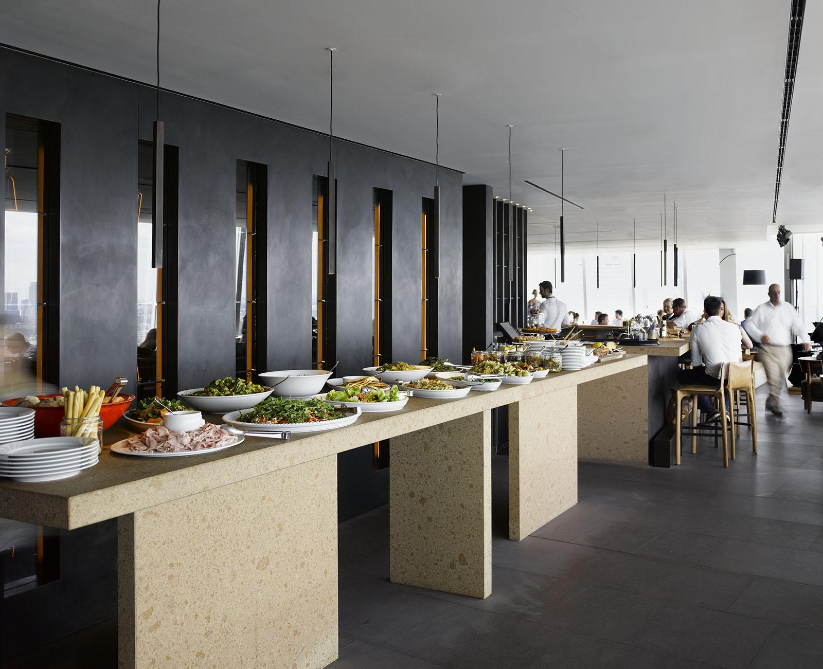 Claudio Silvestrin Oblix Restaurant