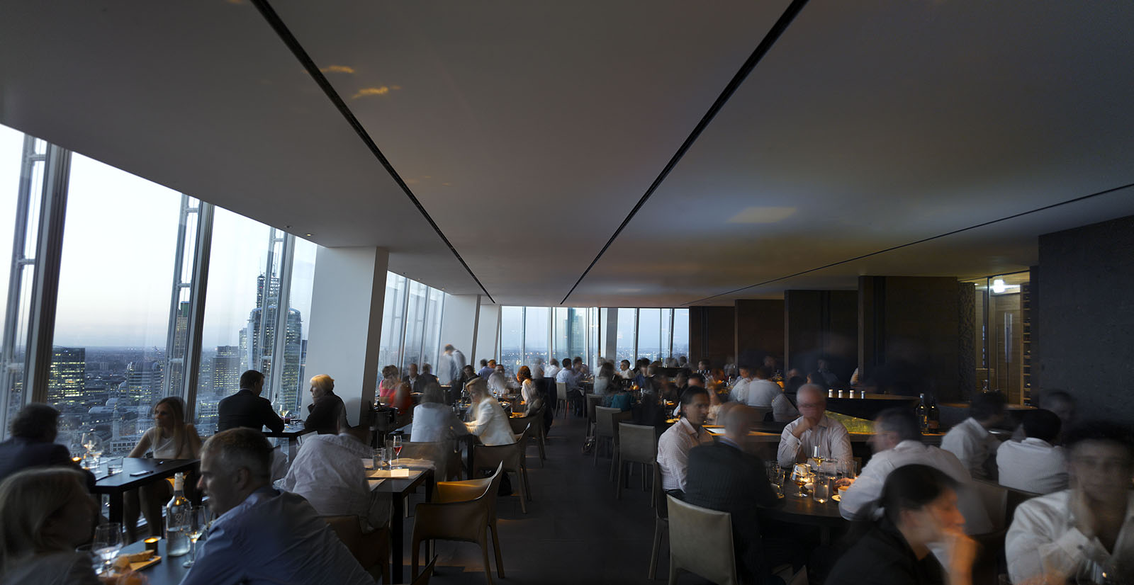 Oblix restaurant for Restaurants at the shard