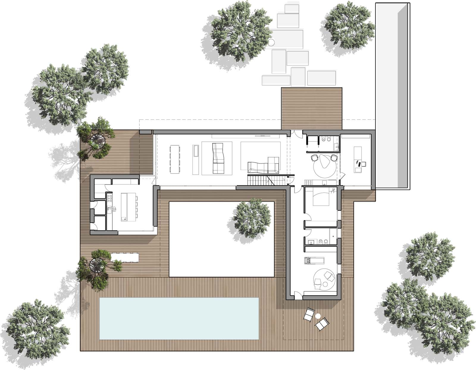 Carlo donati studio la modern for Planimetrie della mia villa