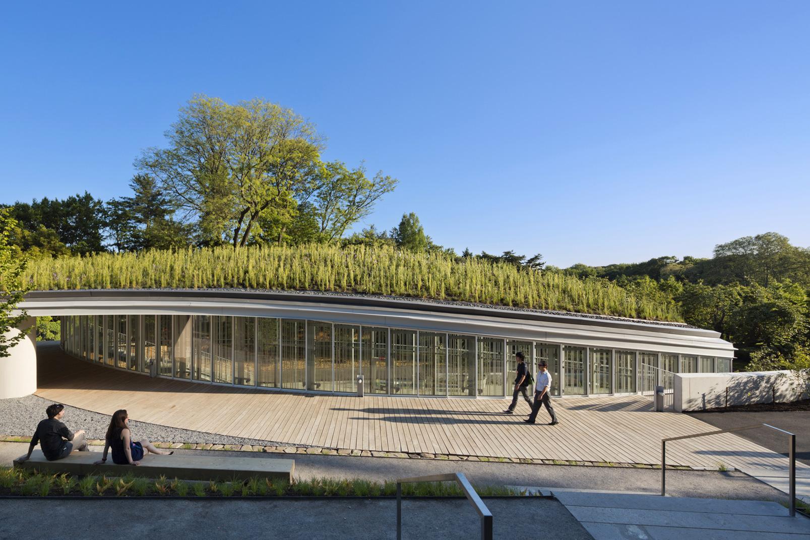 Weiss/Manfredi: Brooklyn Botanic Garden Visitor Center