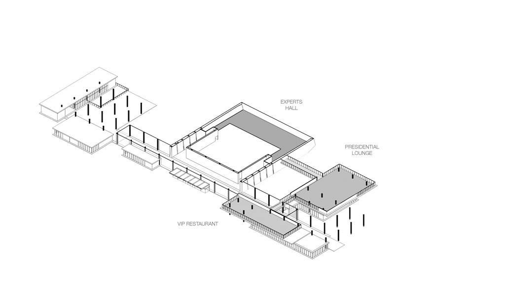 Axonometric View © Tabanlioglu Architects