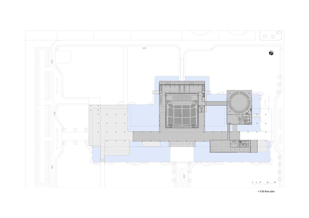 1st Floor Plan © Tabanlioglu Architects