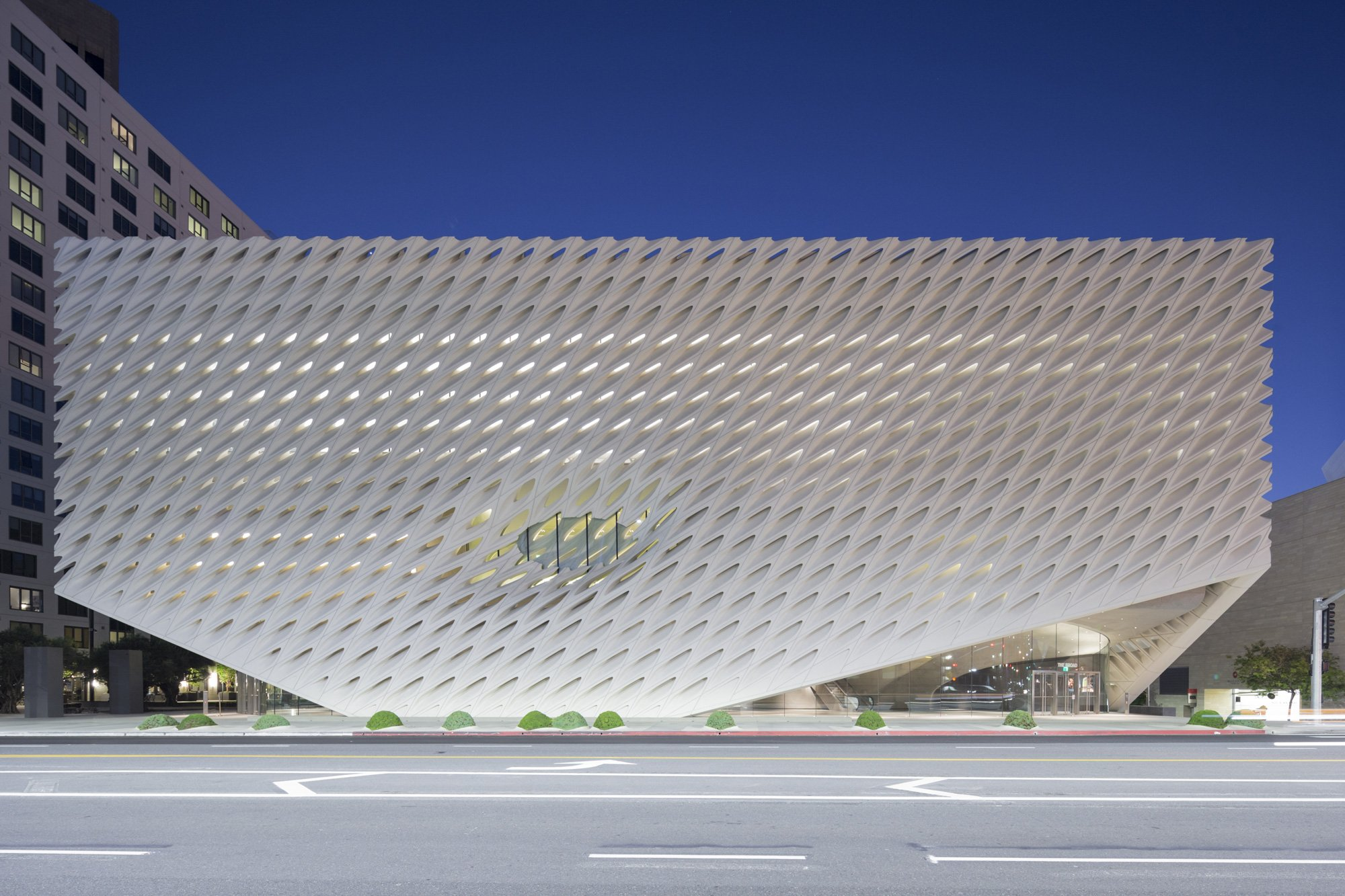 Contemporary Art Museum The Broad © Iwan Baan, courtesy of The Broad and Diller Scofidio + Renfro