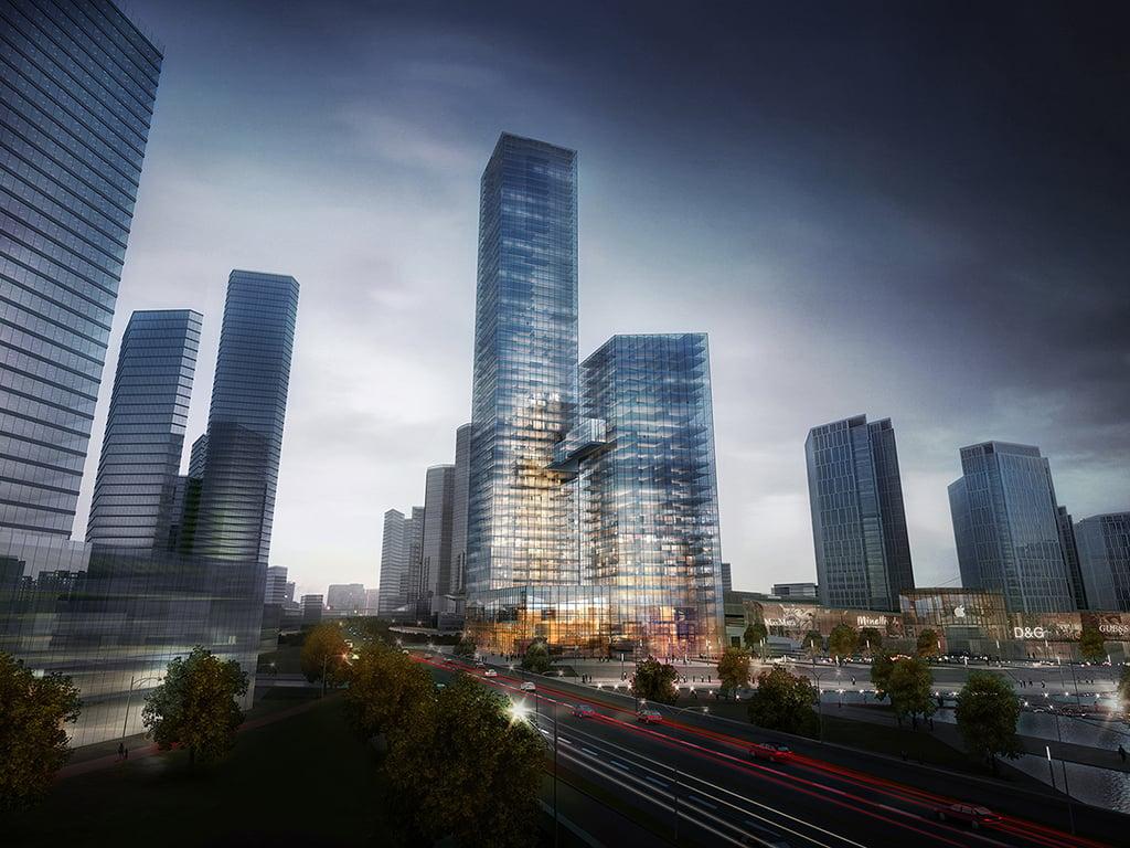 Porsche Design Tower >> CBD Towers