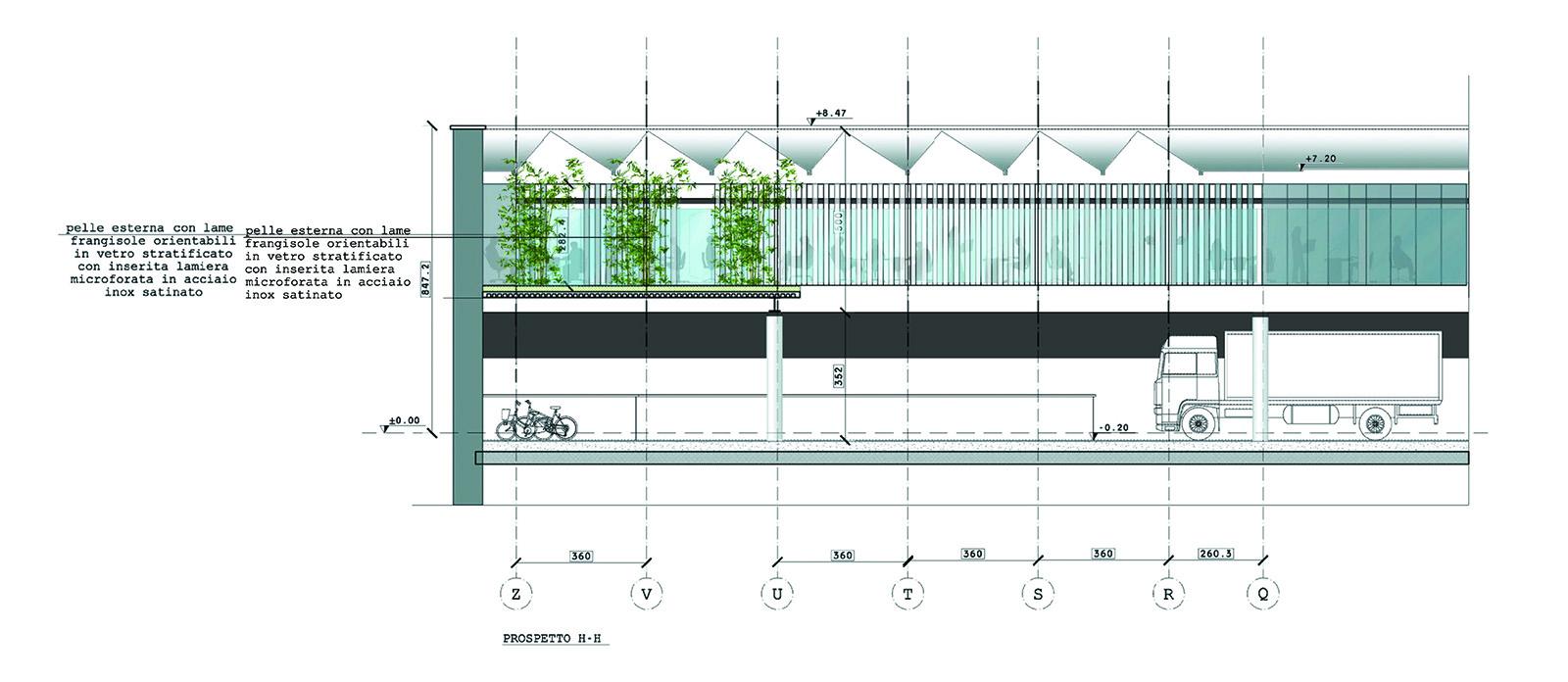 Nuova sede rolex for Piani di coperta del cortile