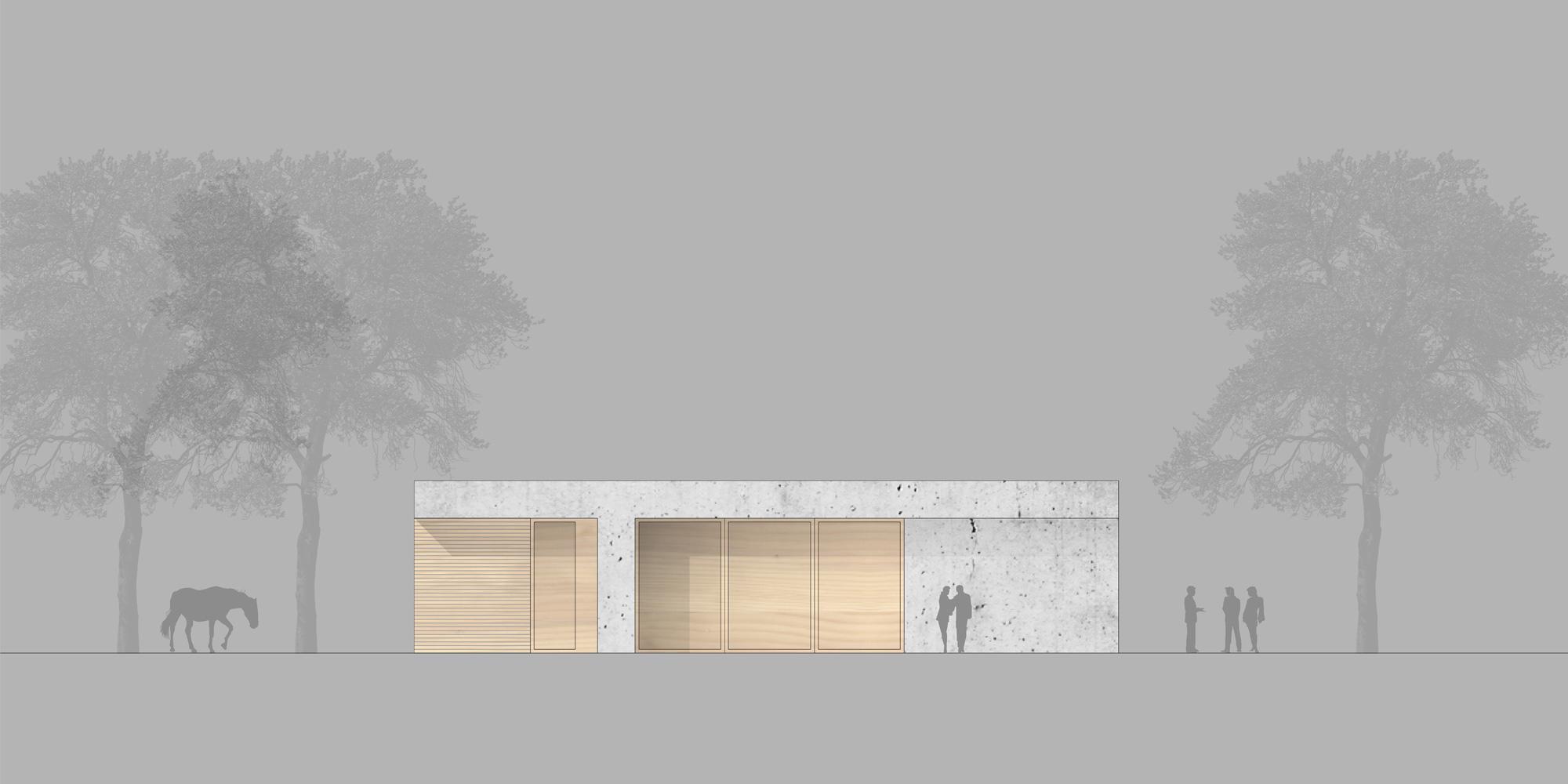 Prospetto Nord-Est © Marte.Marte Architekten