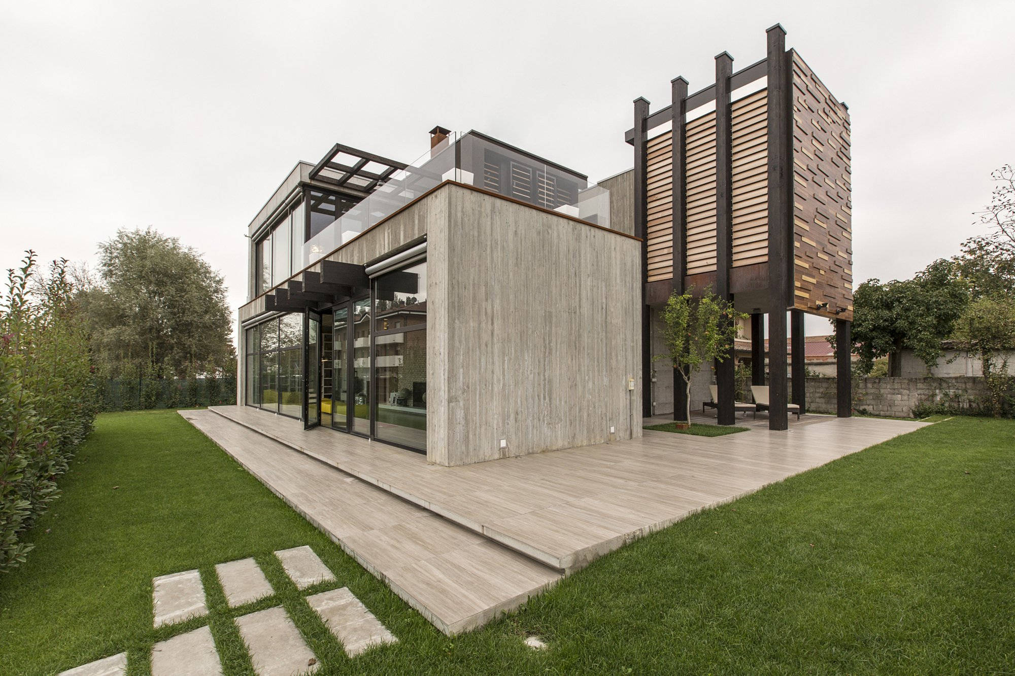 Residenza unifamiliare for Ville architetti famosi