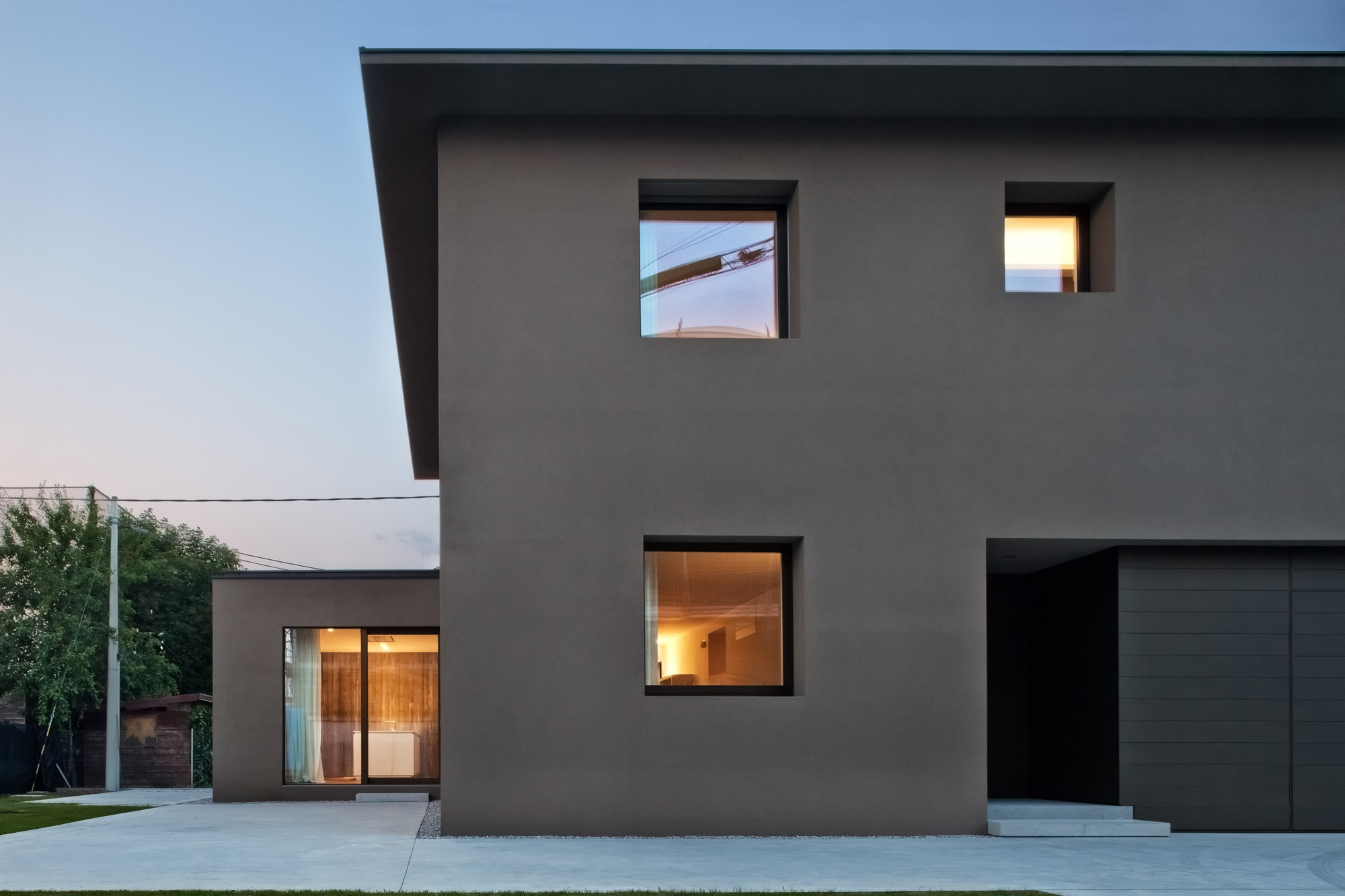 Mide architetti house revamp and extension in abano terme for Log casa architetti