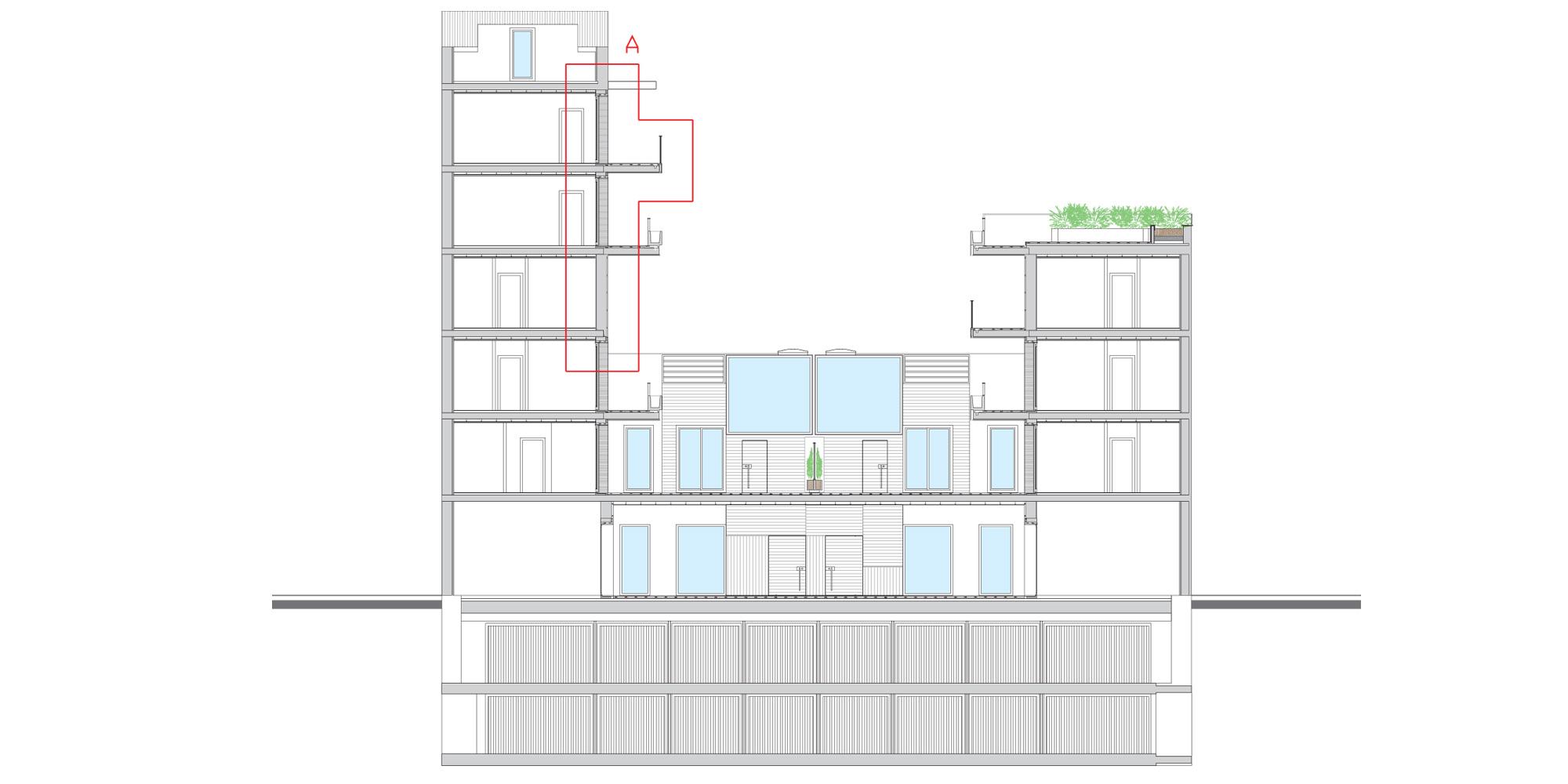 Sezione XX © Westway Architects