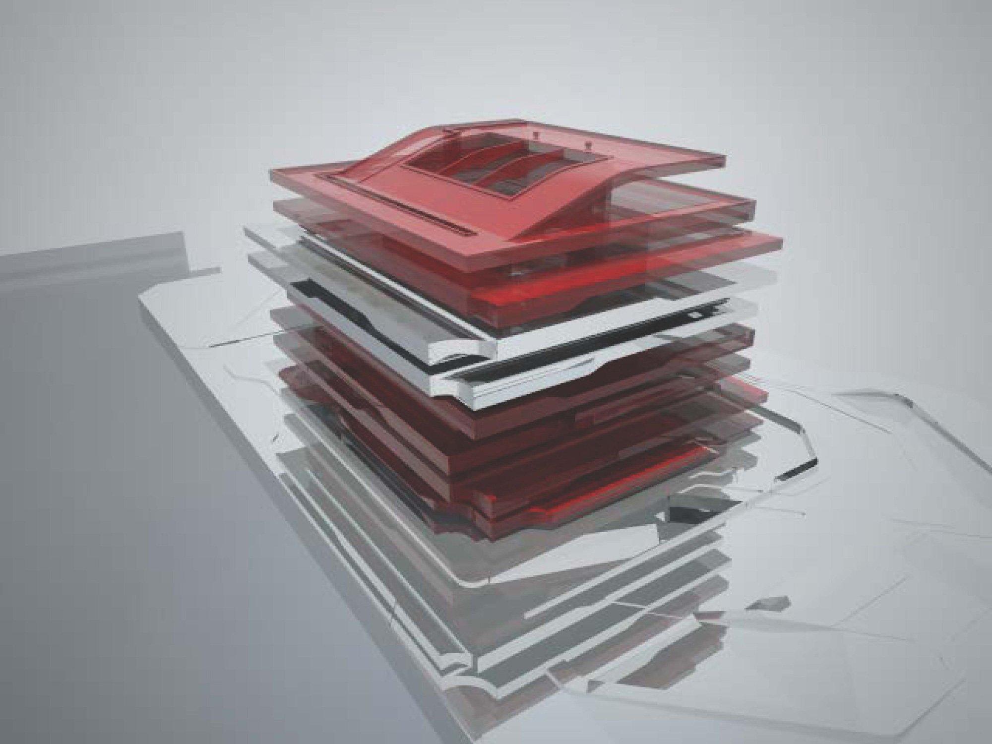 Study Model © Zaha Hadid Architects