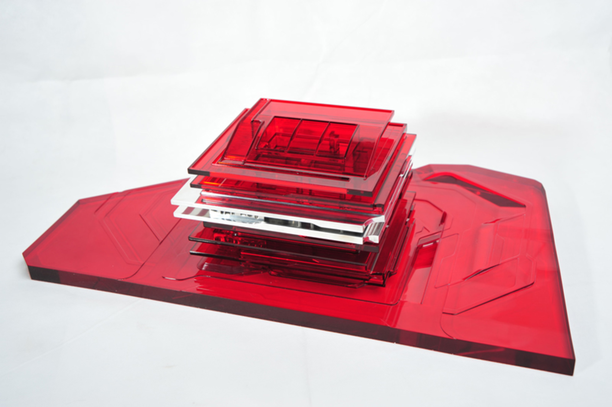 Modello di studio © Zaha Hadid Architects