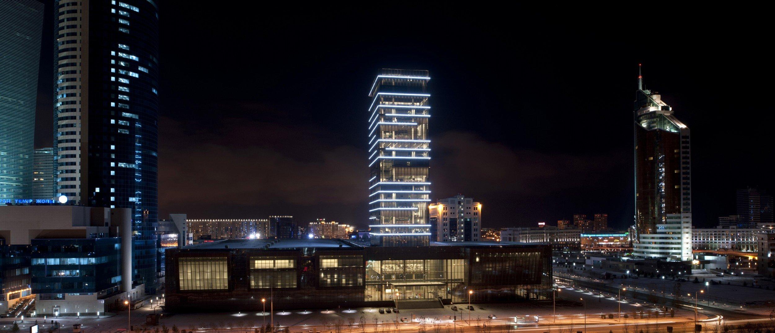 Astana Media Center, Tabanlioglu Architects © Thomas Mayer