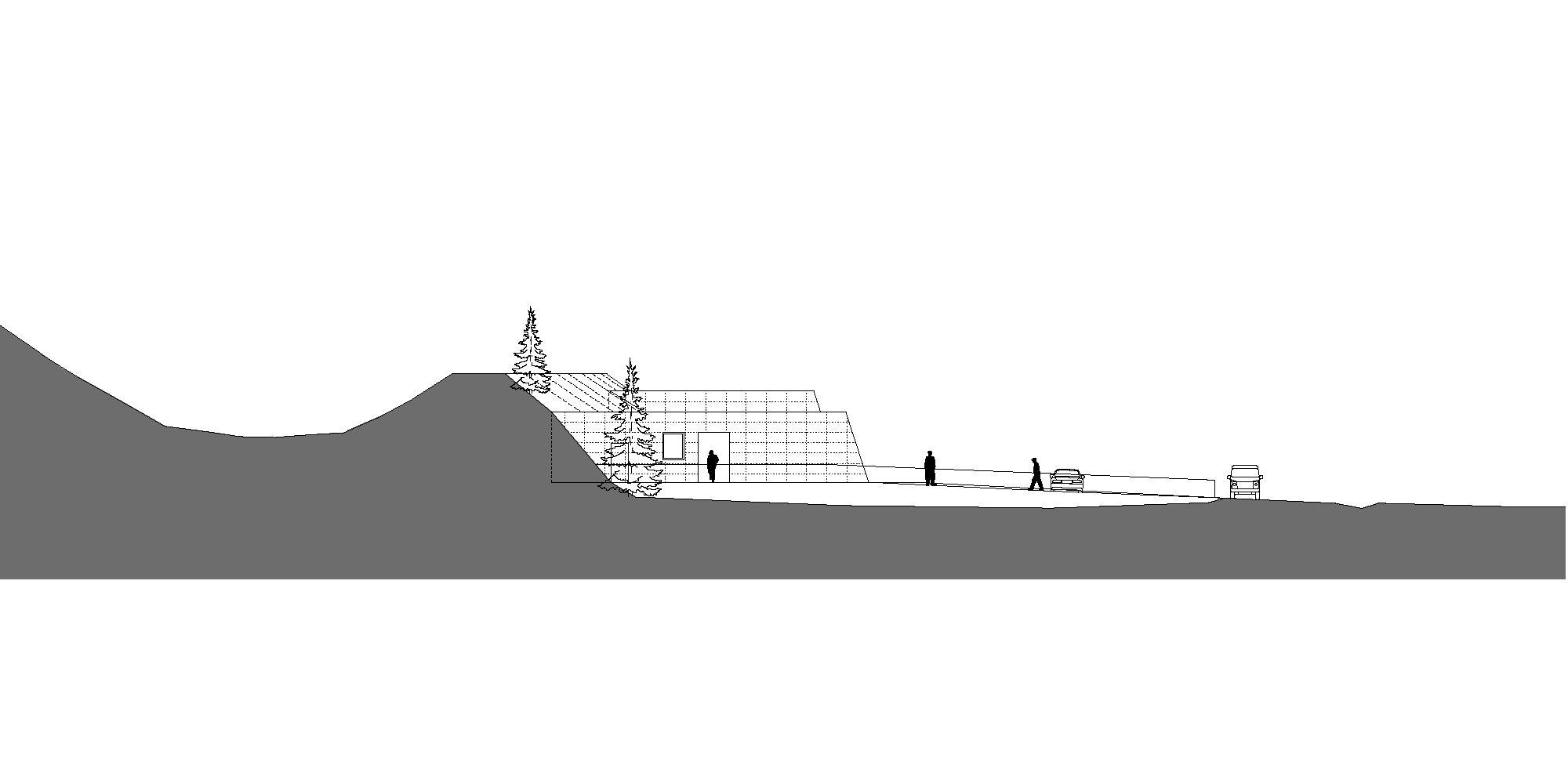 Prospetto Ovest © Roland Baldi Architects