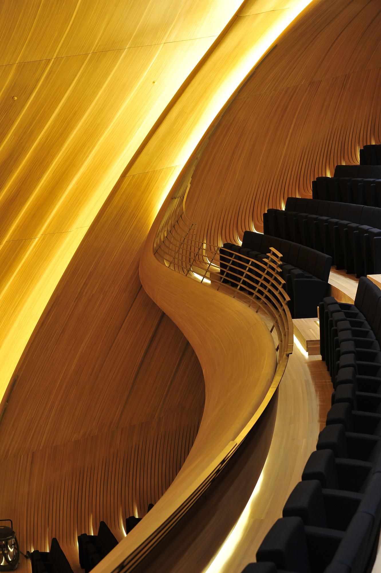 Heydar Aliyev Center, Zaha Hadid Architects © Ikoor