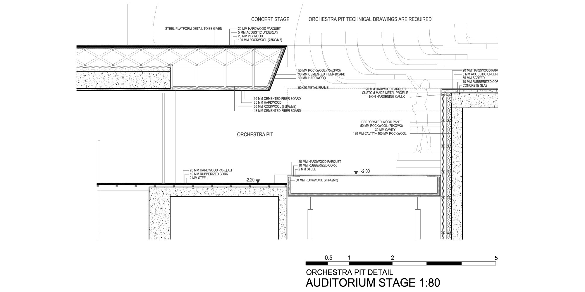 Dettaglio E © Zaha Hadid Architects
