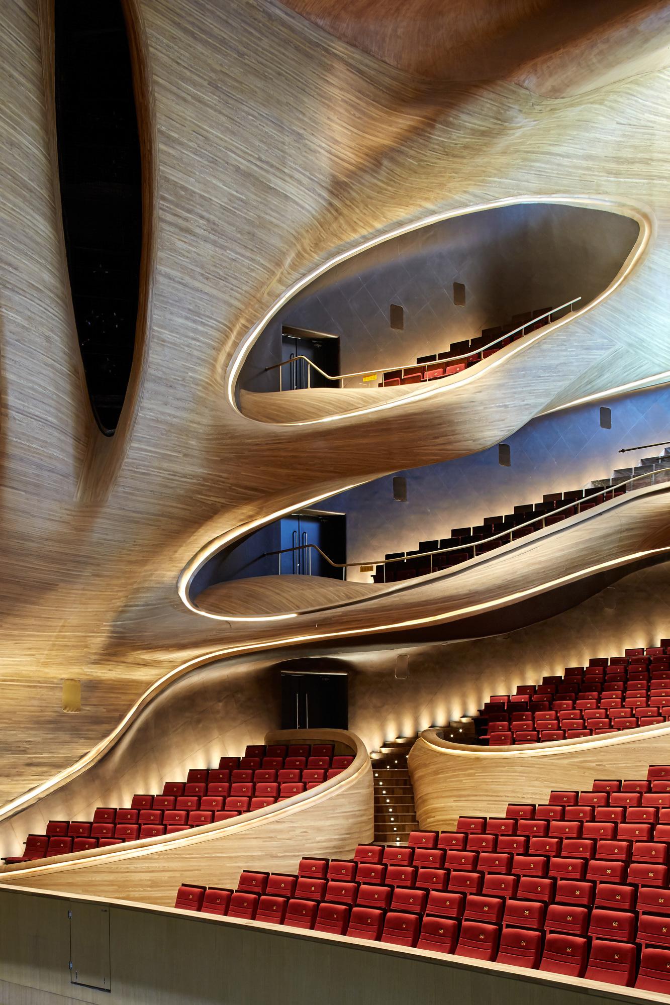 Harbin Opera House, MAD © Hufton+Crow