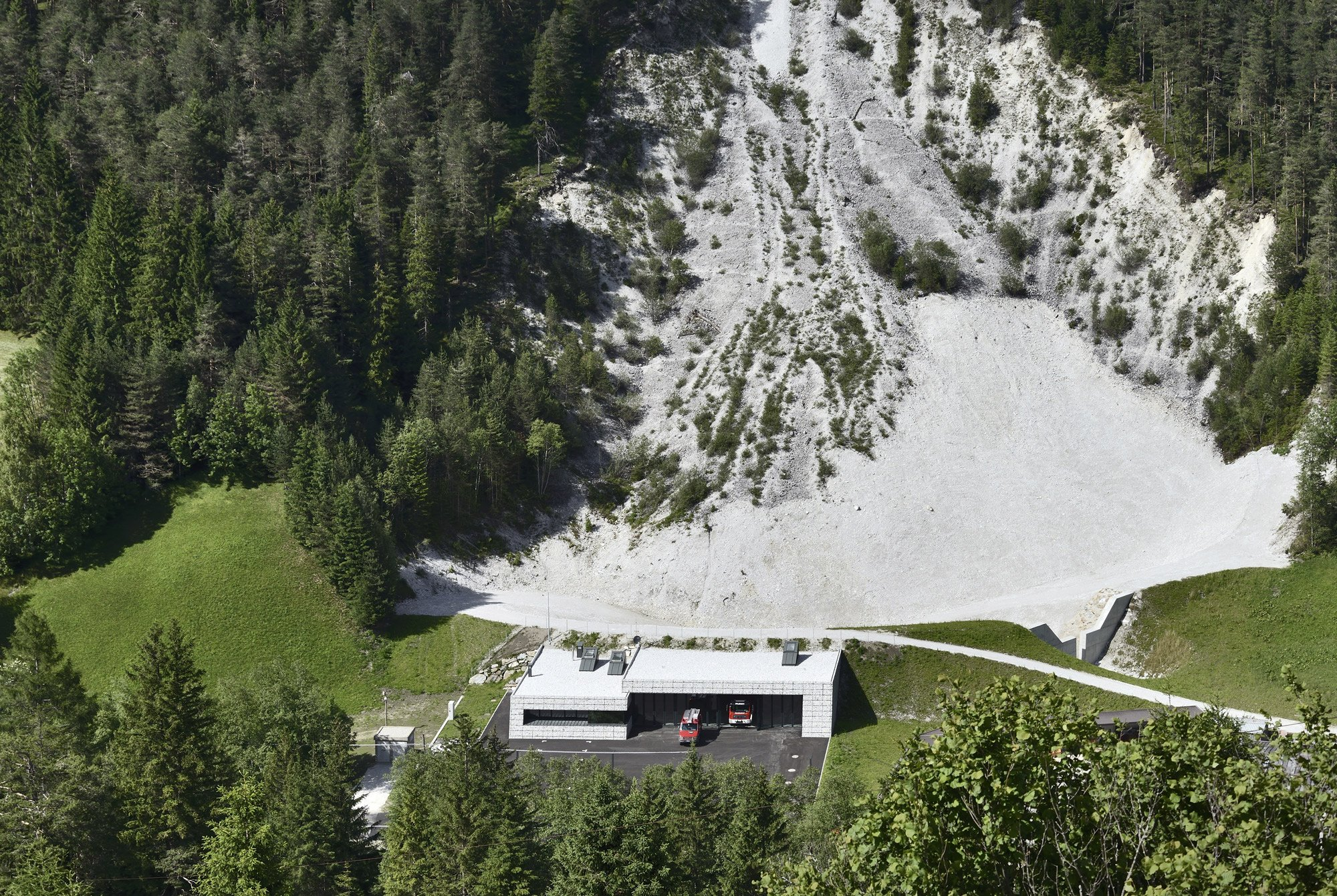 Val di Fleres Fire Station