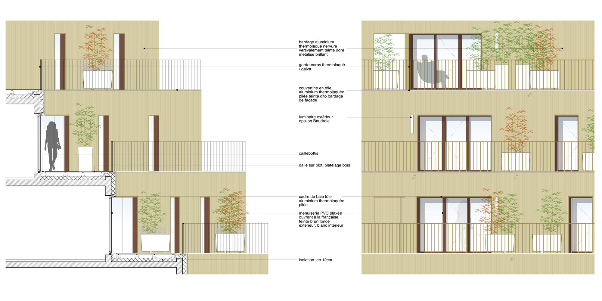 Detail A © Hamonic+Masson & Associés