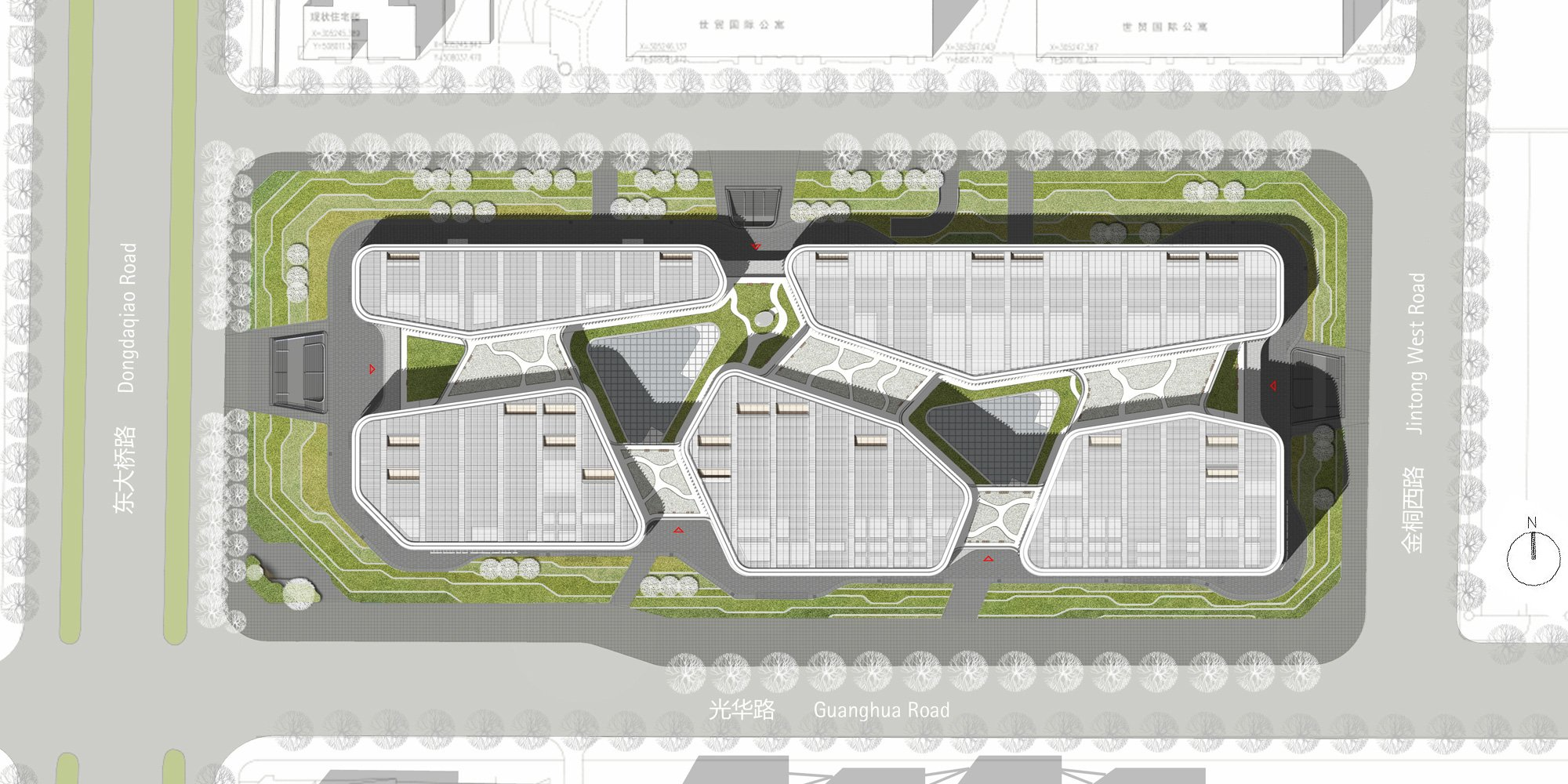 MasterPlan © gmp - von Gerkan, Marg and Partners Architects