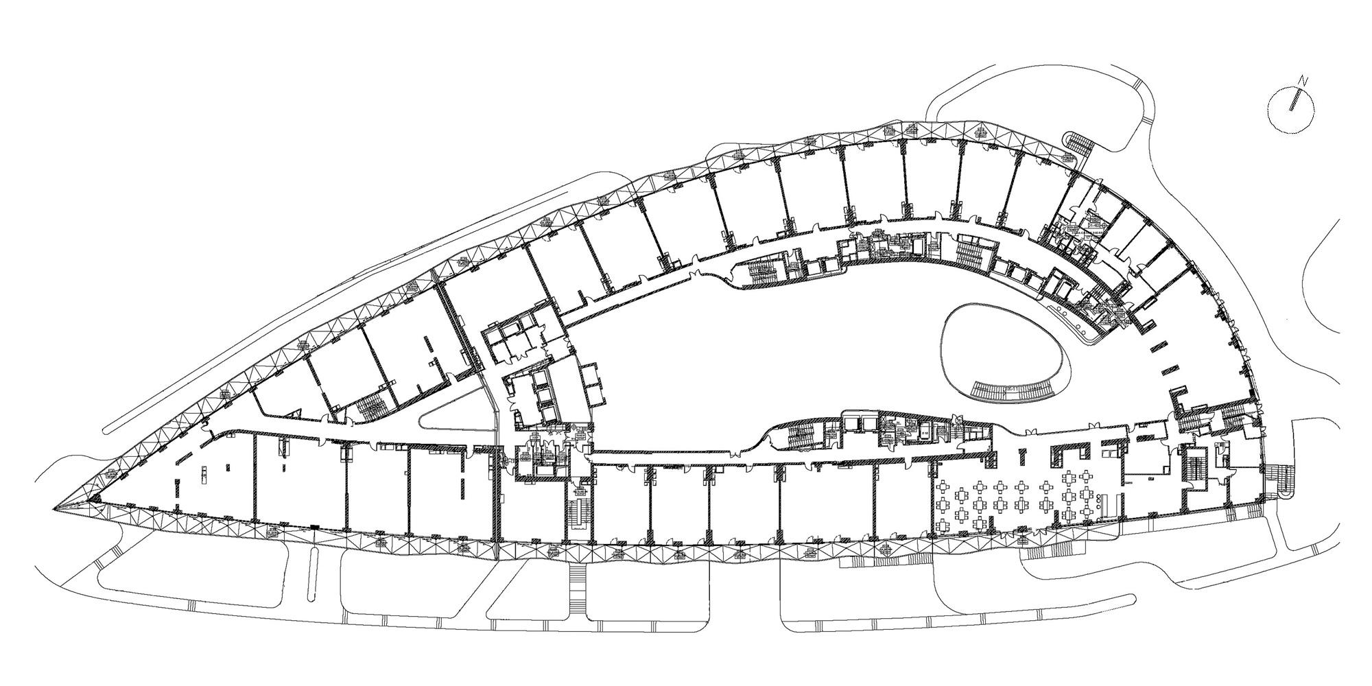 Pianta Piano Terra © SPEECH Architectural Office