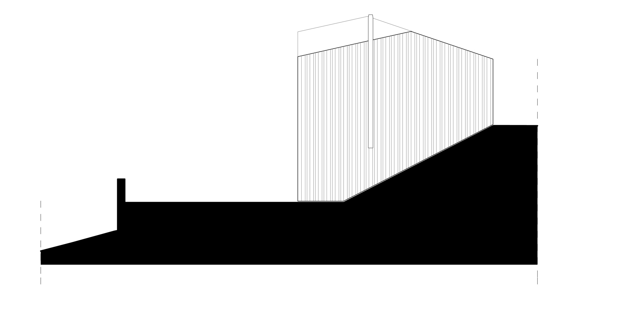 North Elevation © Mirko Franzoso Architetto