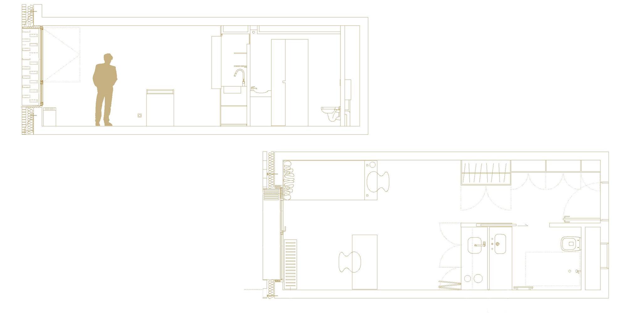 Apartment detail © Avenier Cornejo Architectes