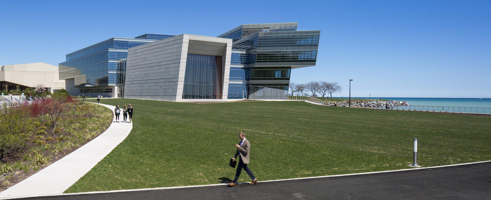 Patrick G. and Shirley W. Ryan Center for the Musical Arts presso la Northwestern University © Tom Rossiter