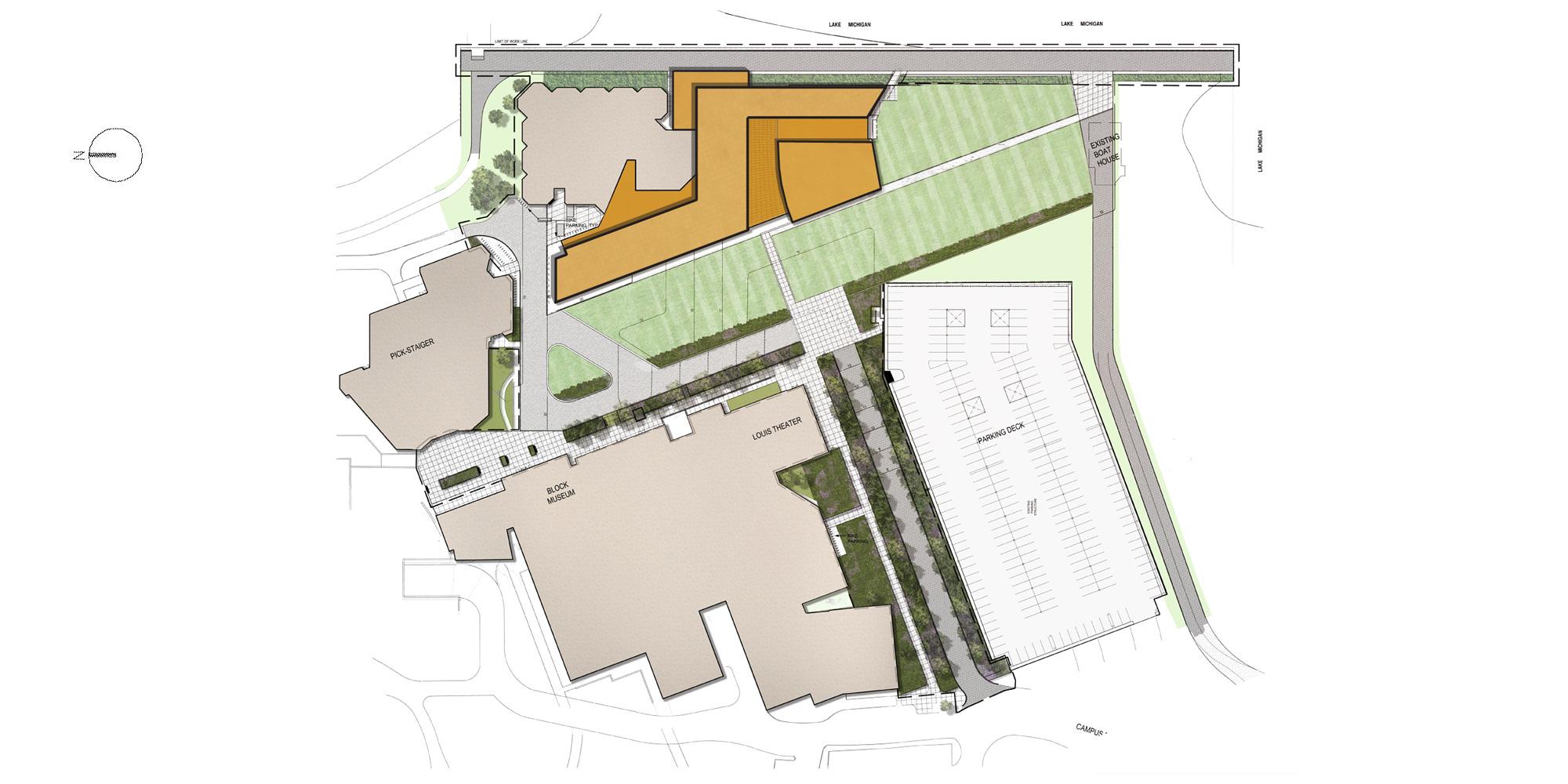 Site Plan © Goettsch Partners