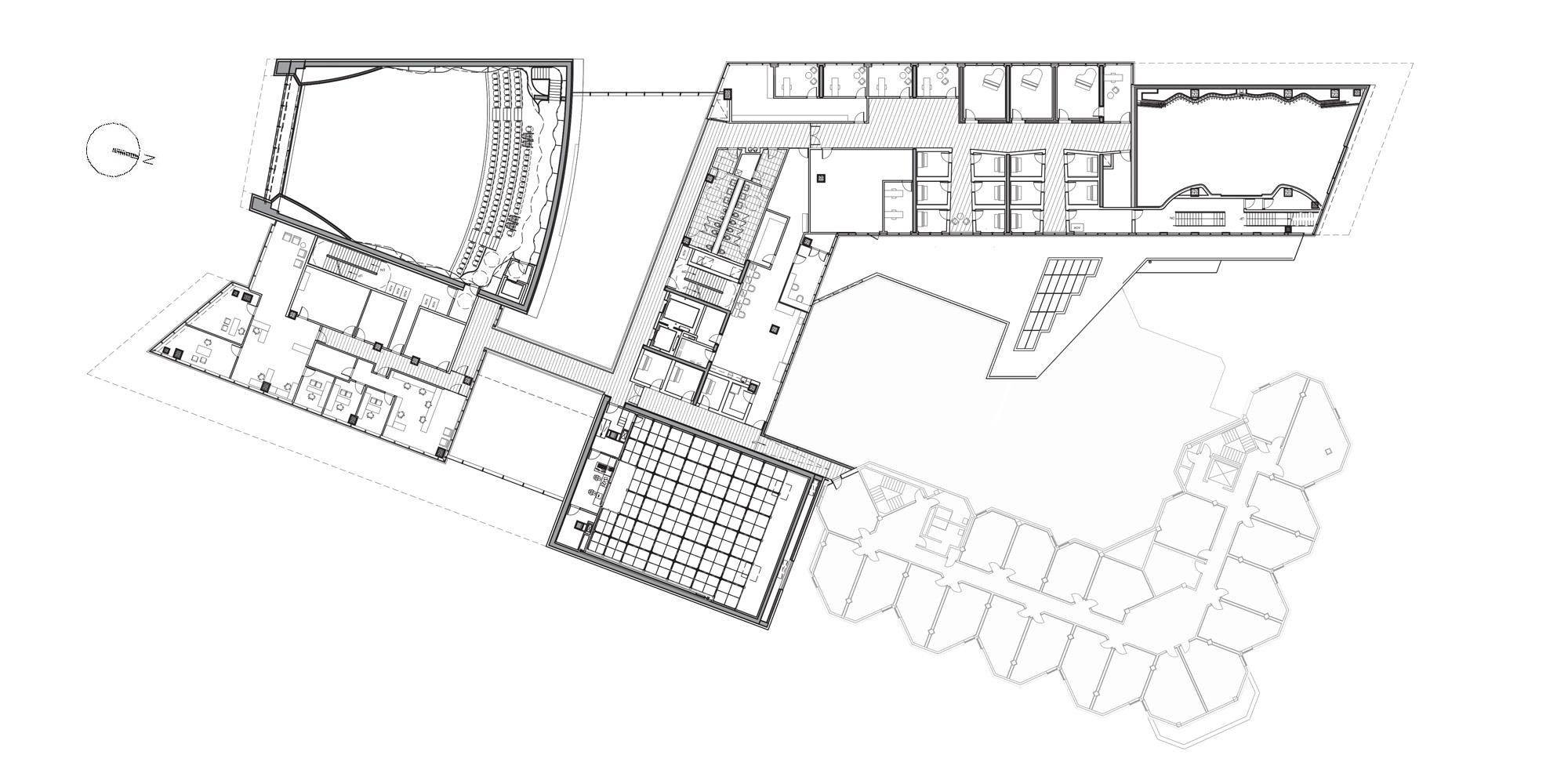 1st Floor Plan © Goettsch Partners