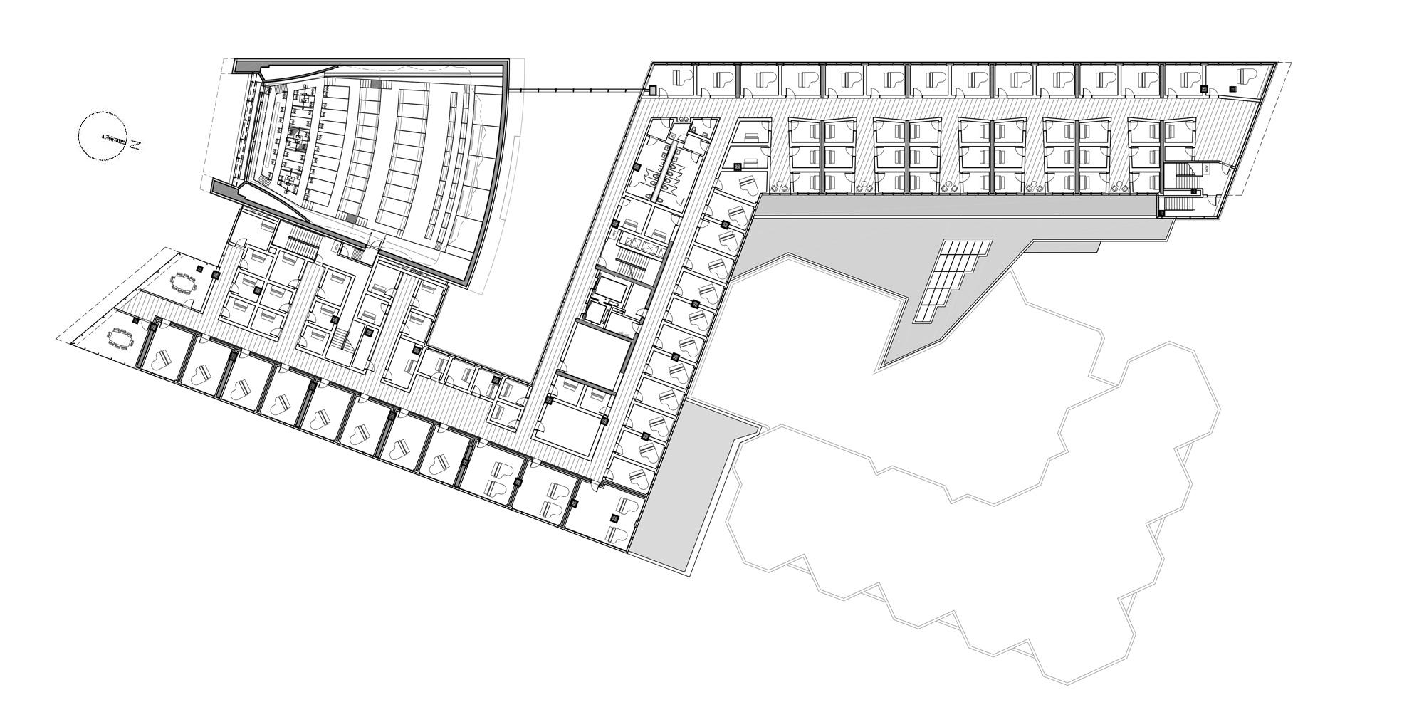 2nd Floor Plan © Goettsch Partners