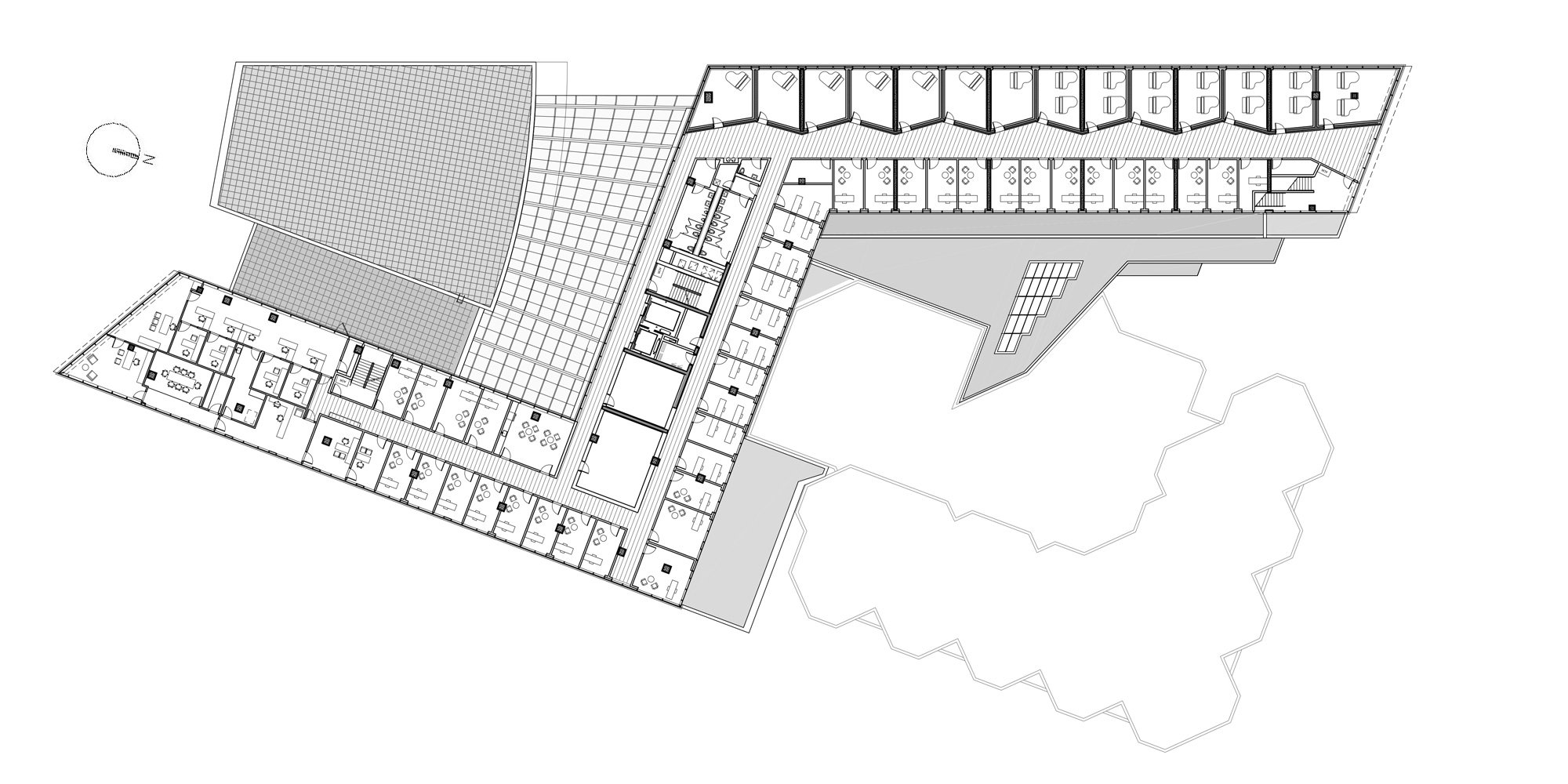 3rd Floor Plan © Goettsch Partners