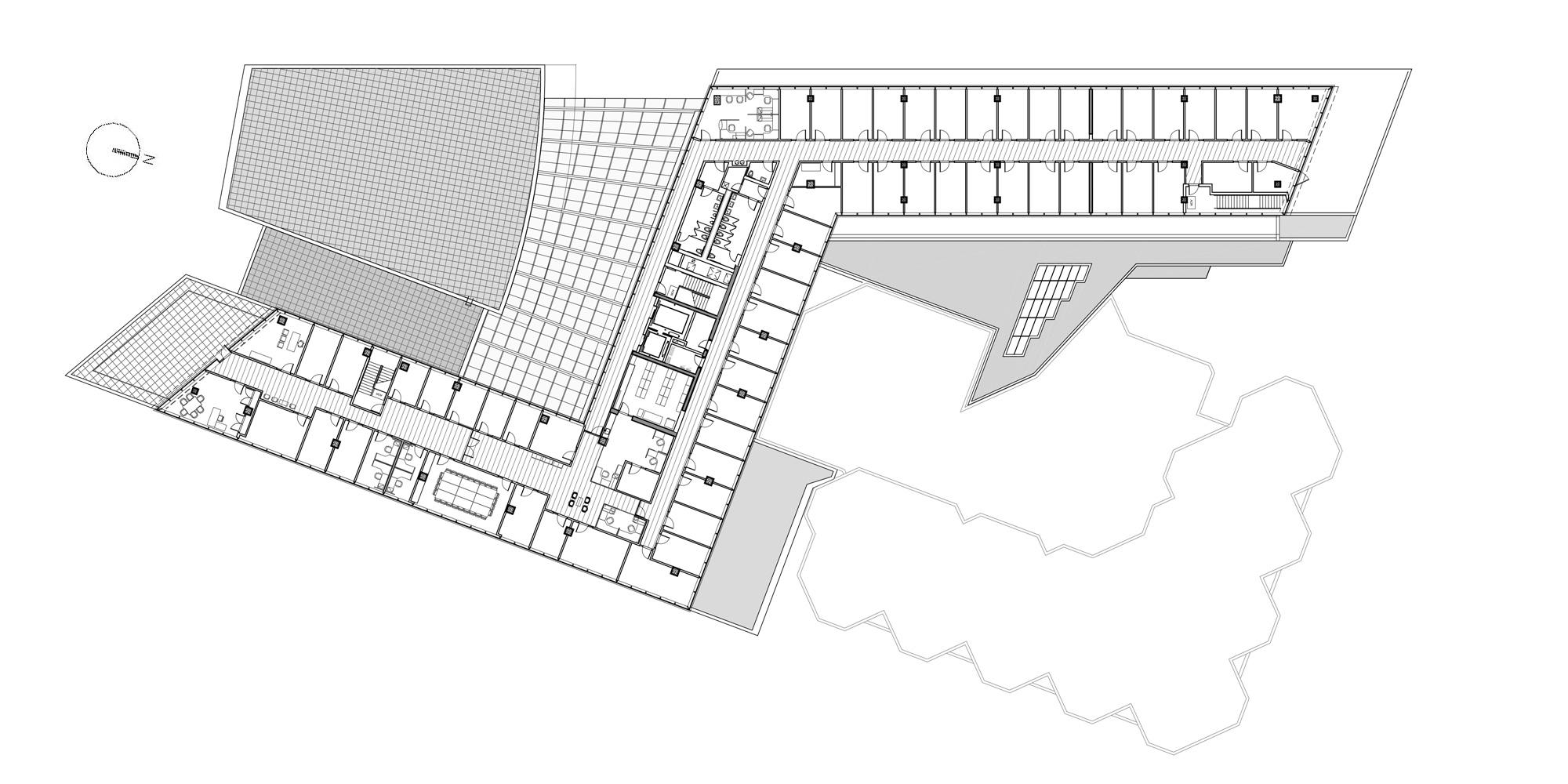 4th Floor Plan © Goettsch Partners