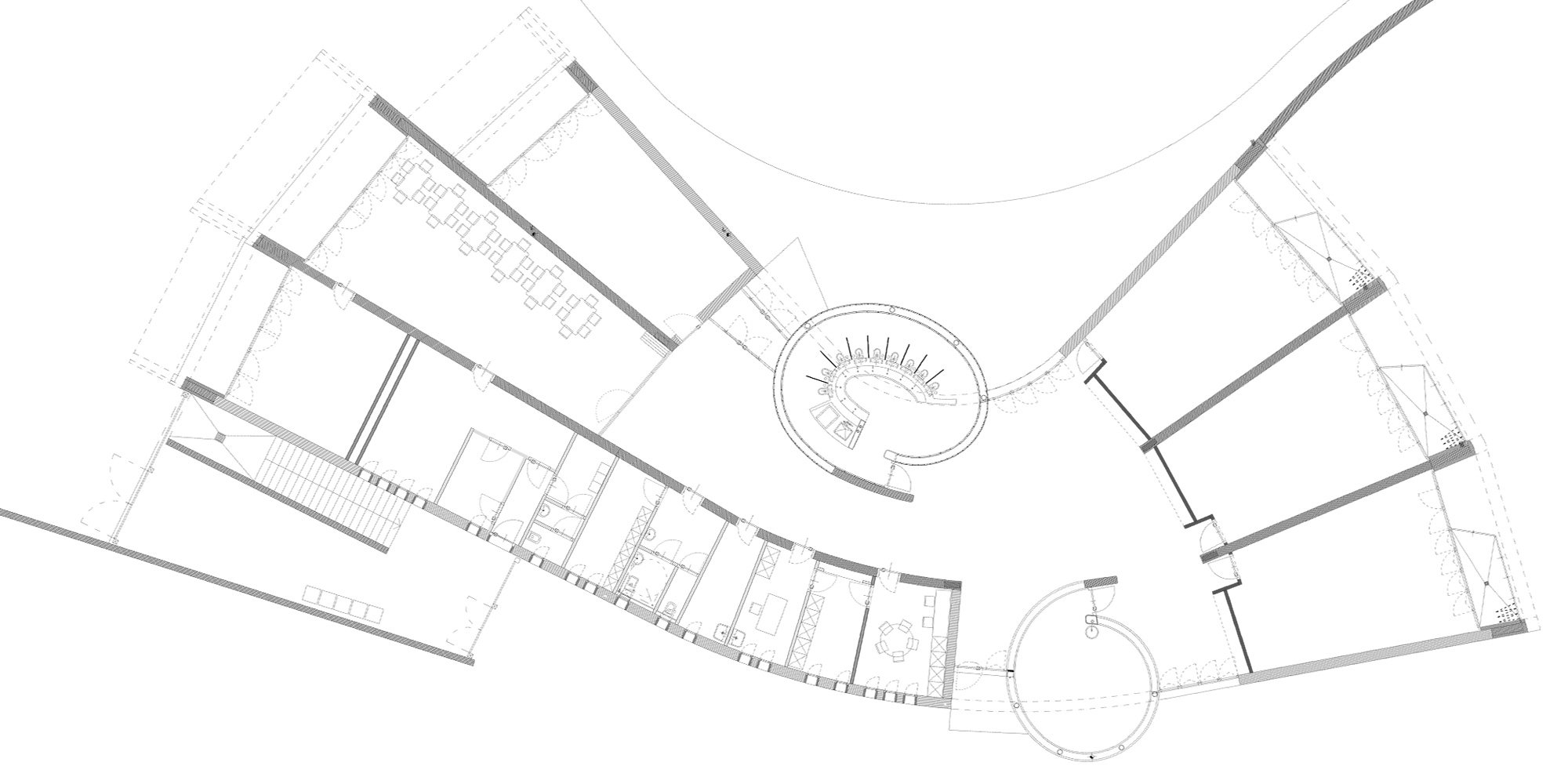 Ground Floor Plan © FontanAtelier