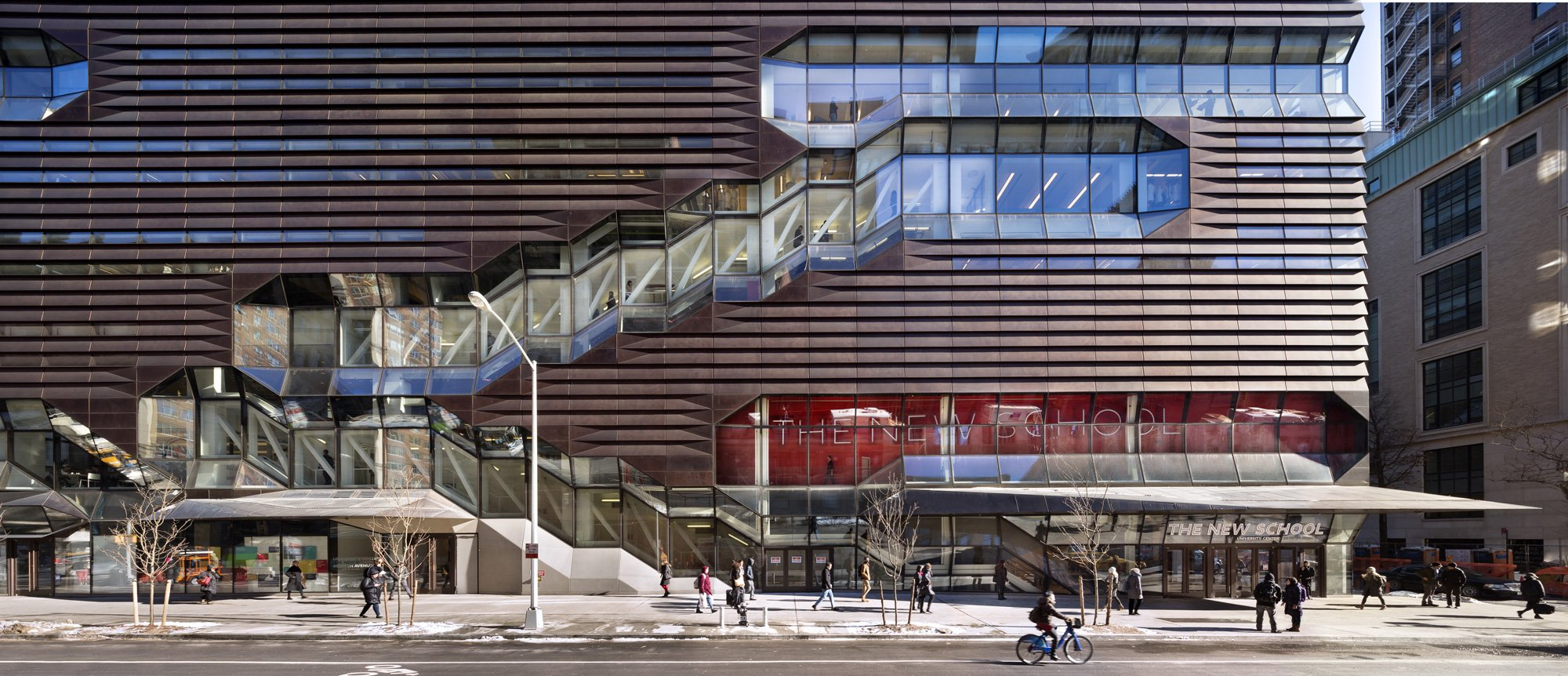 University Center, The New School, Skidmore, Owings & Merrill © James Ewing