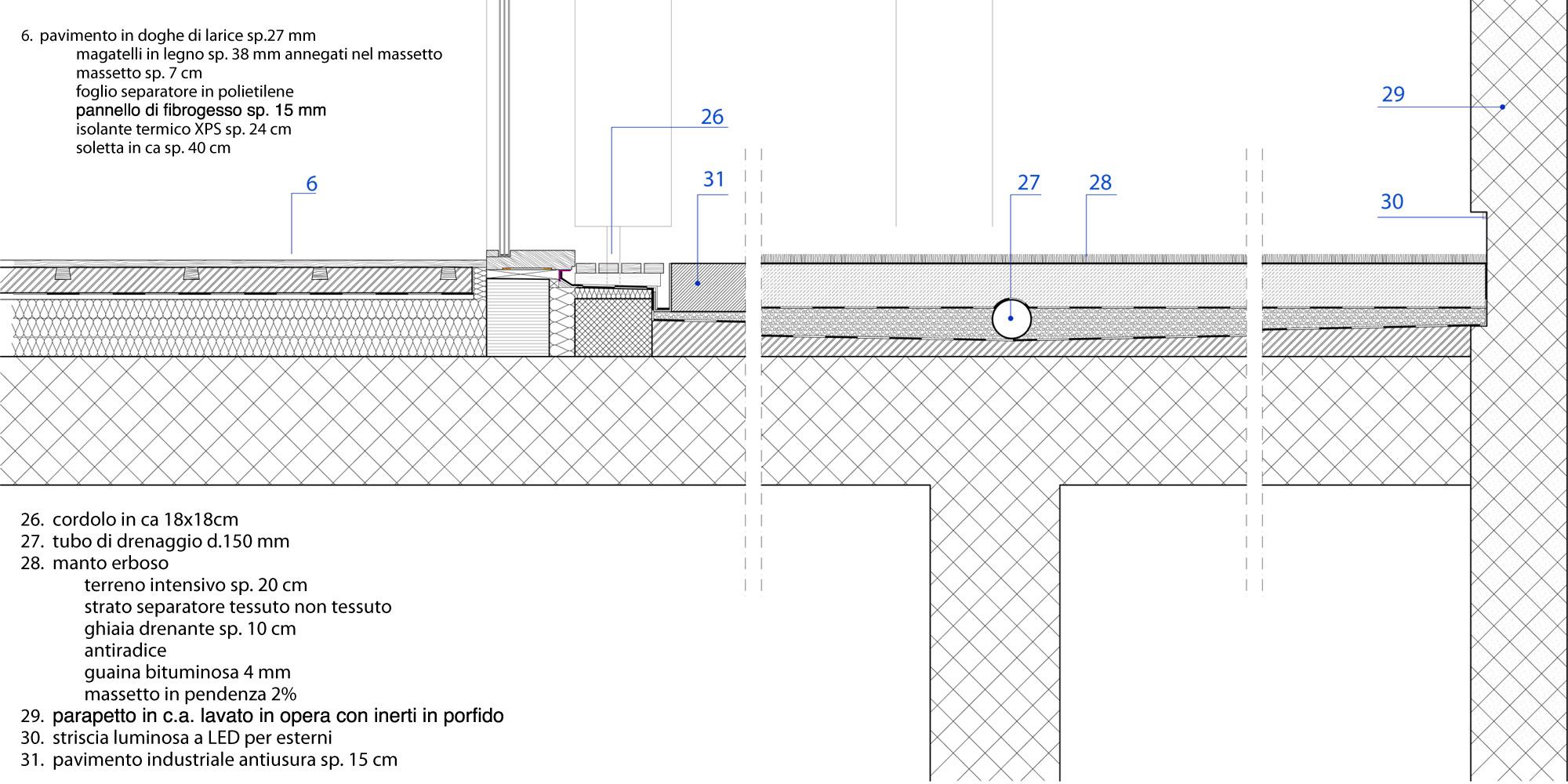 Detail © Mirko Franzoso Architetto