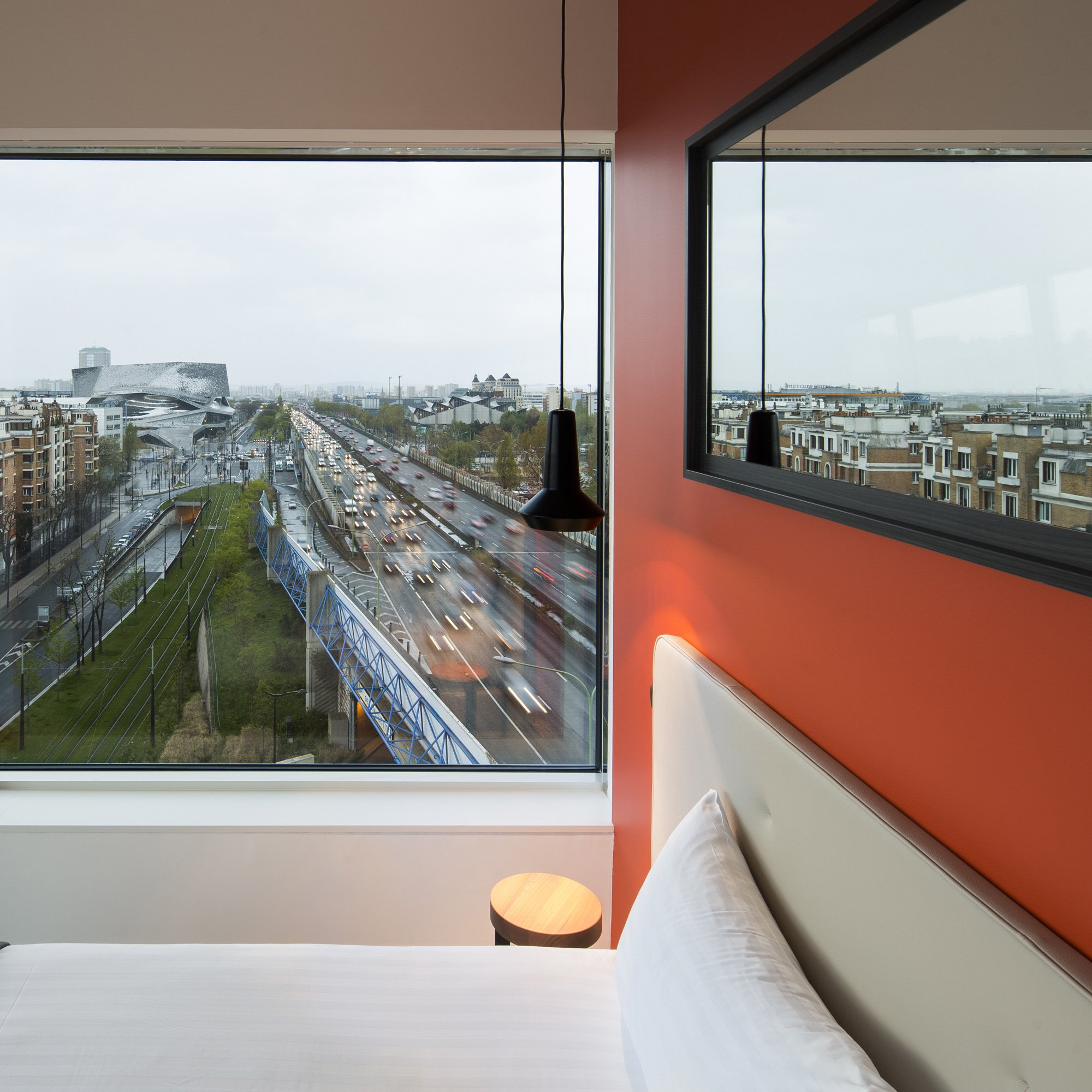 Residence Hipark, Manuelle Gautrand Architecture © Luc Boegly