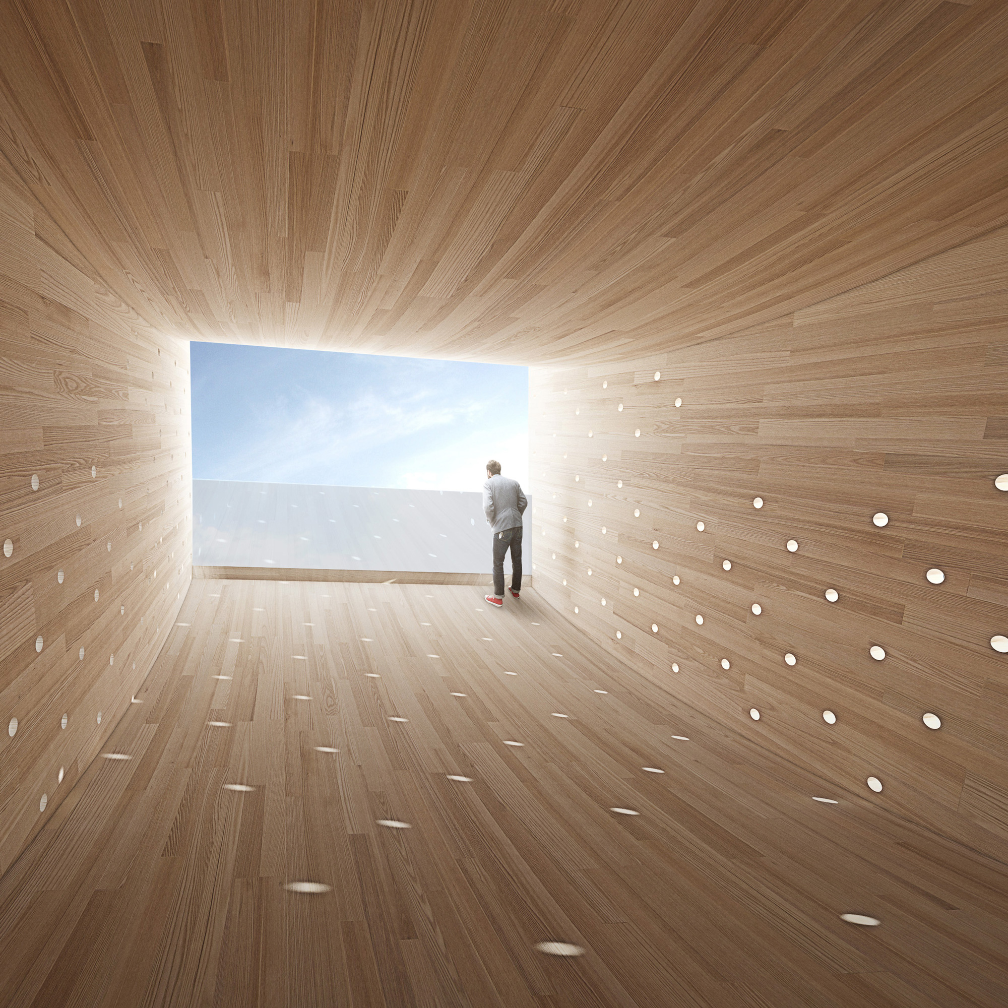The Smile by Alison Brooks Architects for the London Design Festival © Alison Brooks Architects