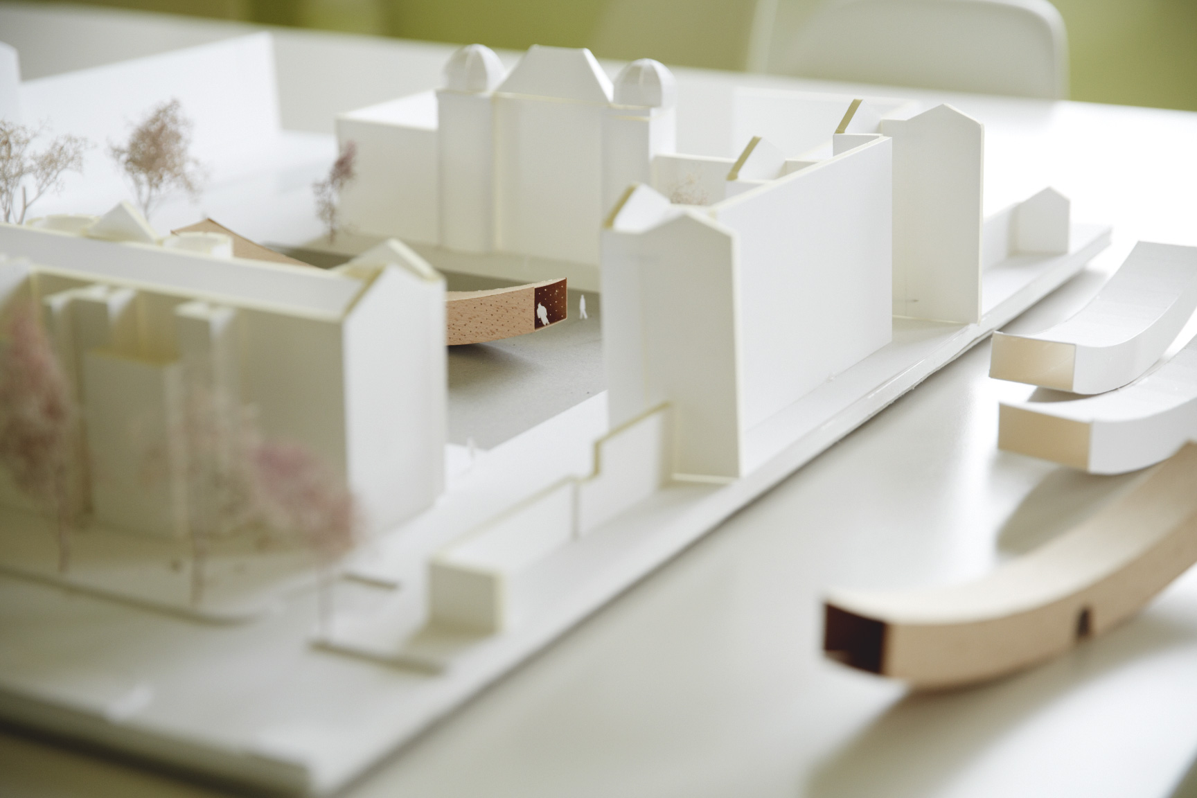 Design process of The Smile by Alison Brooks Architects © Jon Cardwell