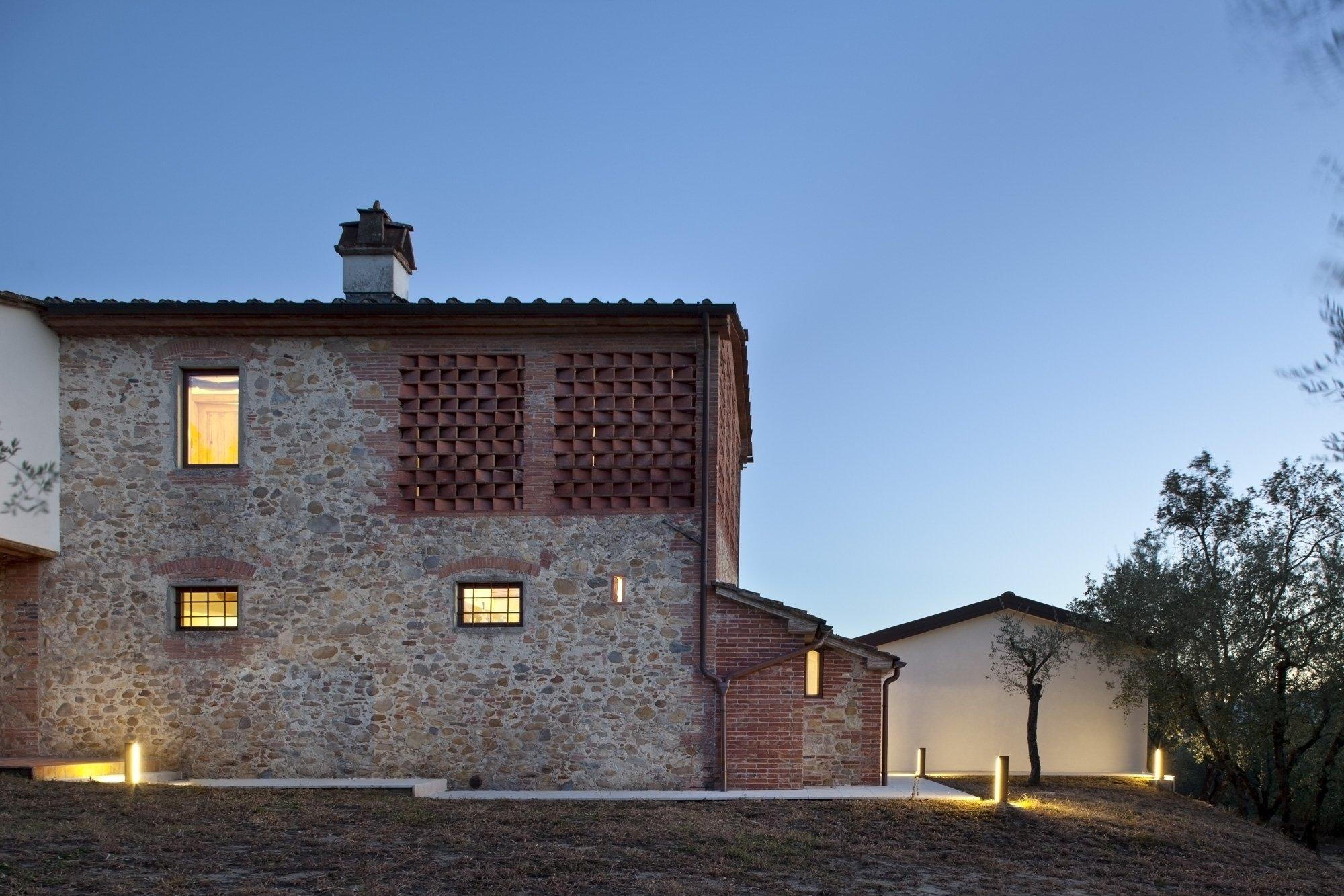 Casale di campagna for Architettura di campagna francese