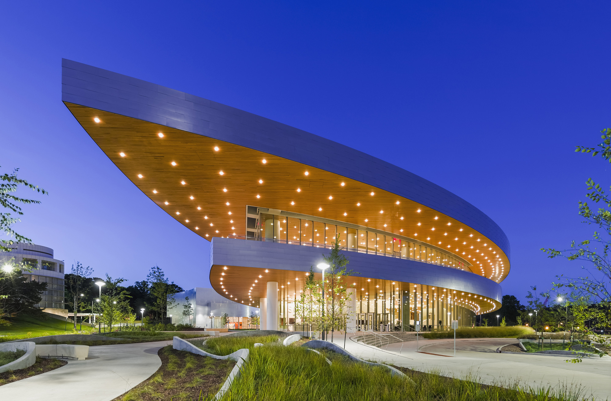 Hancher Building, Pelli Clarke Pelli Architects Jeff Goldberg/ESTO