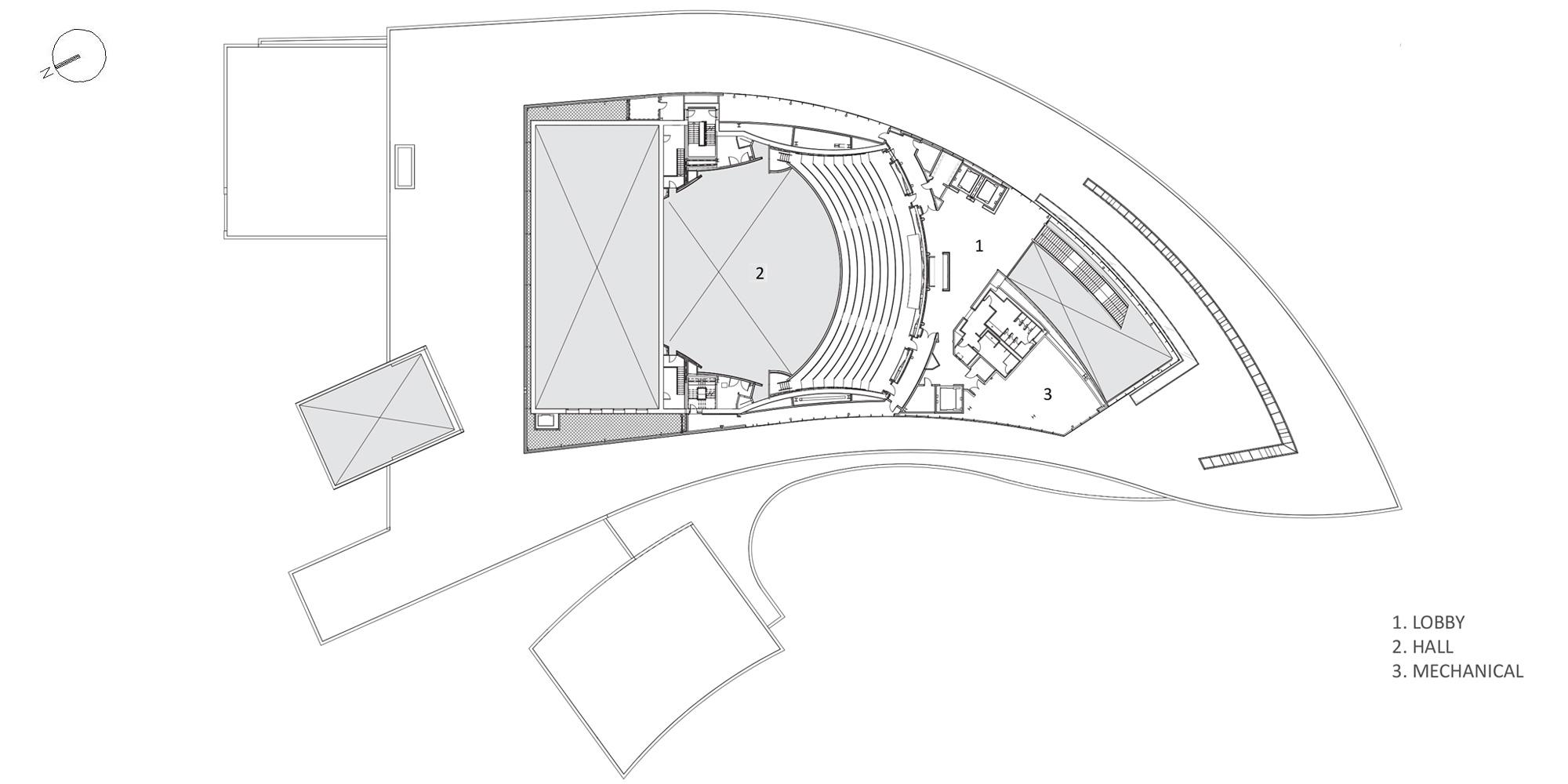 Level 3 Plan © Pelli Clarke Pelli Architects