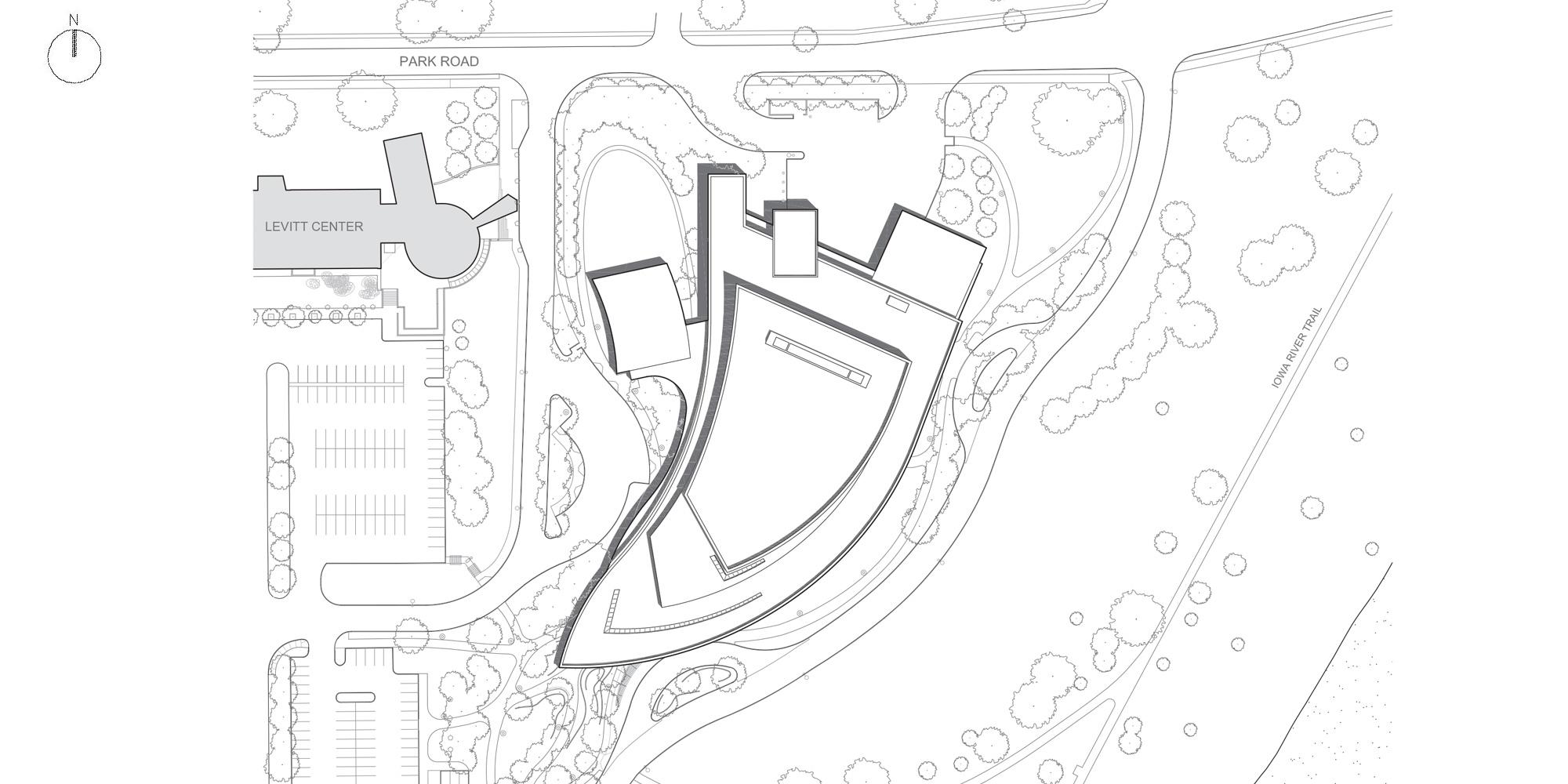 Site Plan © Pelli Clarke Pelli Architects