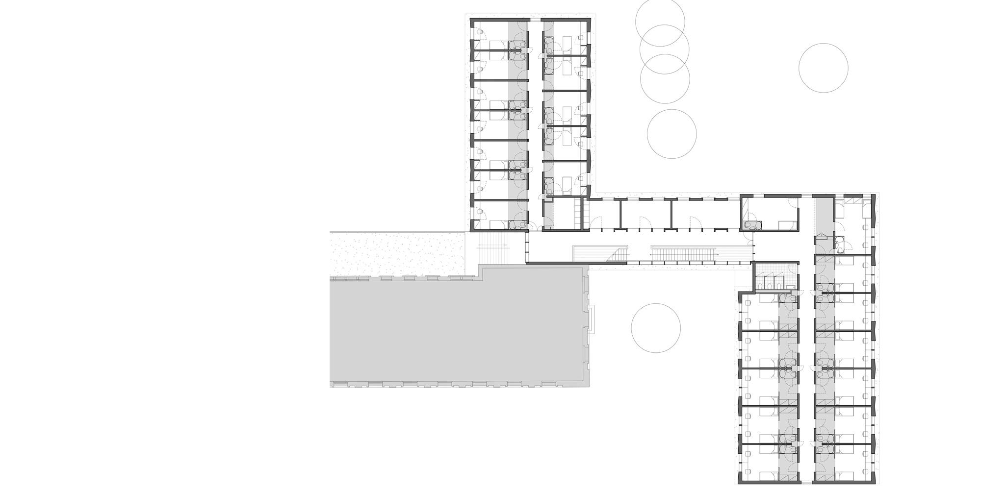 Pianta Piano Primo © Belus & Hénocq Architectes